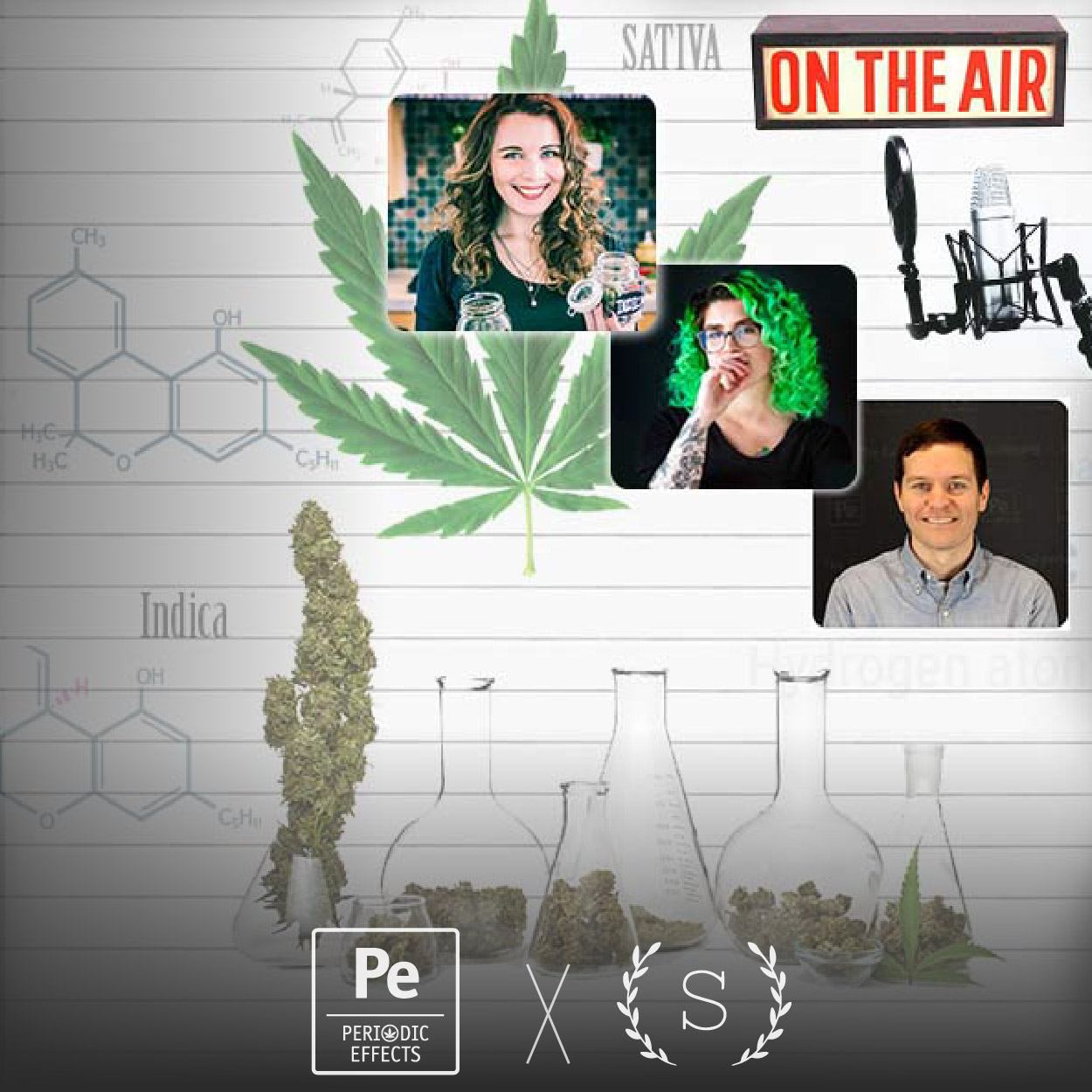 Sativa Science Club and Periodic Effects: Cannabis Business Podcast Live Audience Q&A Podcast