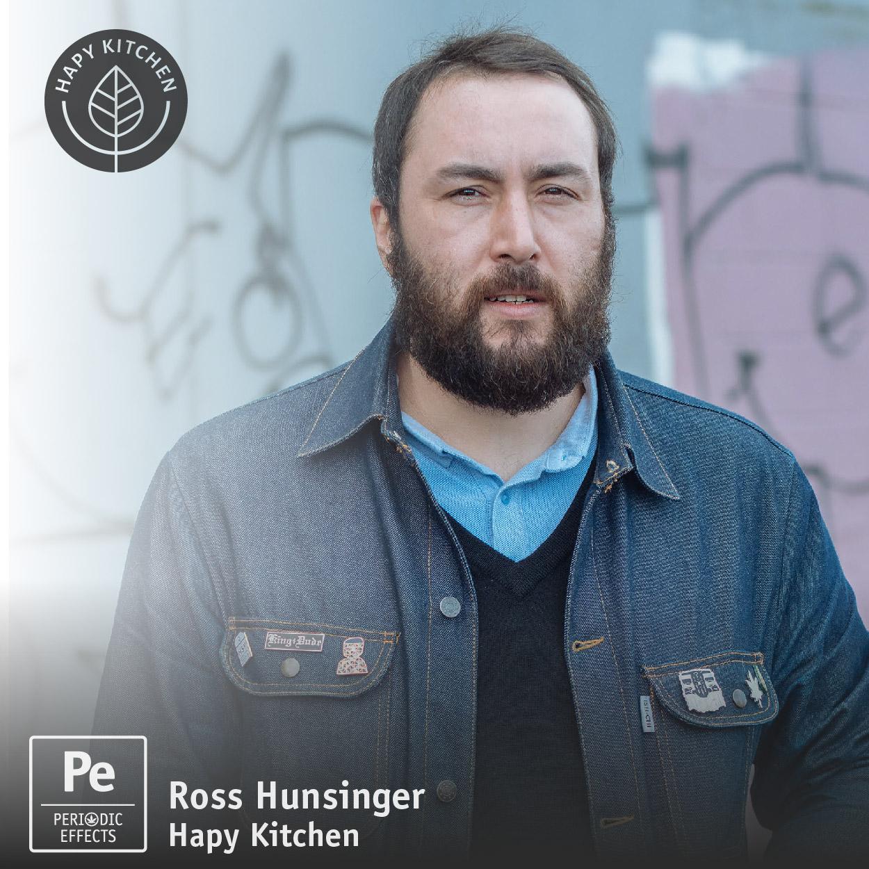 Ross Hunsinger from Hapy Kitchen, Cannabis Edible maker, paleo bar