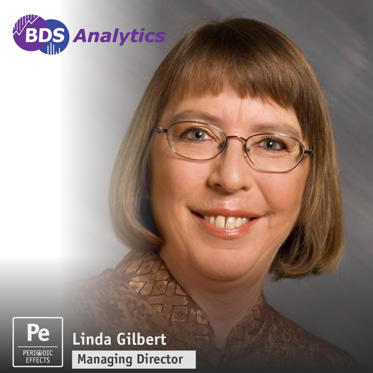 Linda Gilbert, Managing Director of BDS Analytics, a data-driven company focused on cannabis consumer insights and demographics