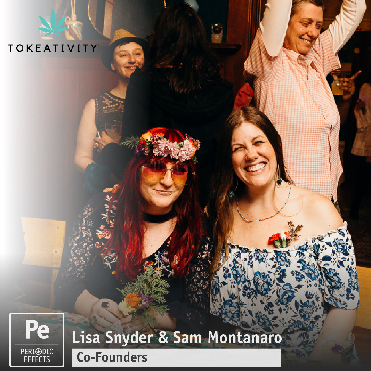 Lisa Snyder and Sam Montanaro Co-Founders of Tokeativity, a Global Cannabis Community for Women