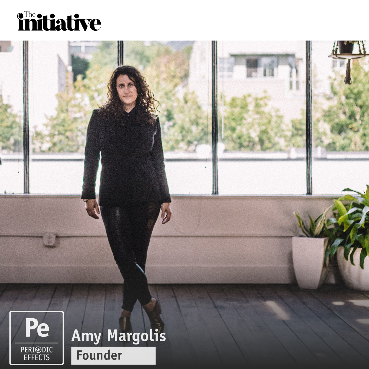 Amy Margolis, a cannabis lawyer who founded The Initiative, a business startup accelerator for women founded cannabis companies