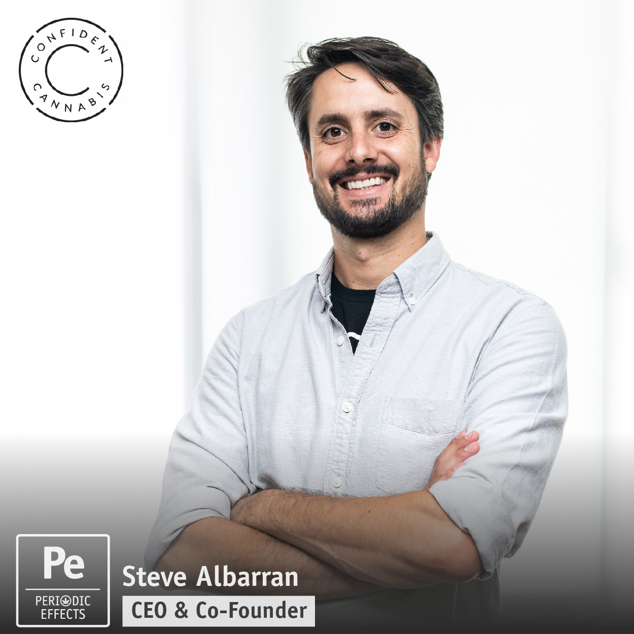 Steve Albarran, CEO and Co-Founder of Confident Cannabis, a wholesale platform that integrates lab testing data for potency, terpenes, pesticides, solvents and other compliance testing