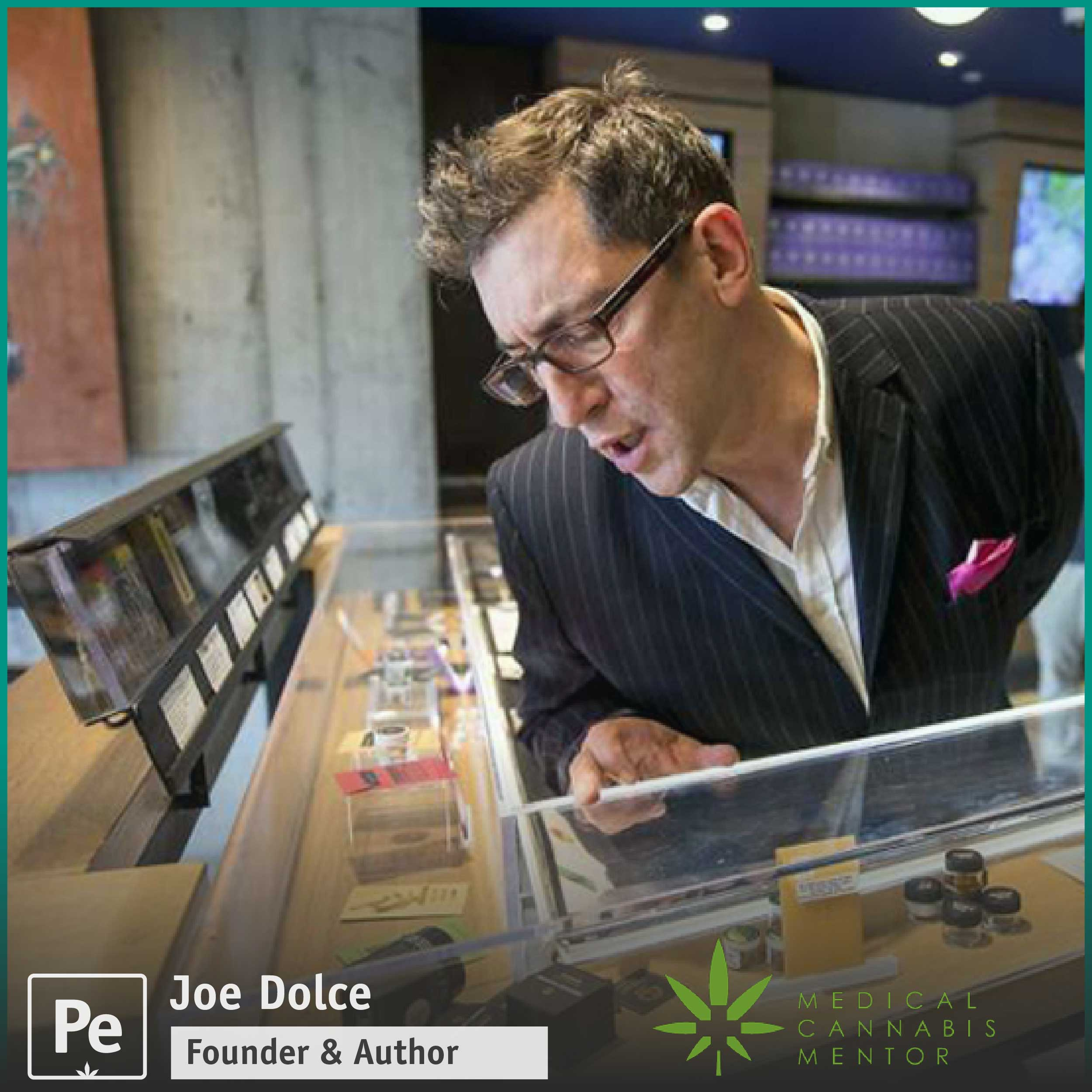 Joe Dolce, author of the book Brave New Weed, a look at the evolving cannabis and marijuana industry
