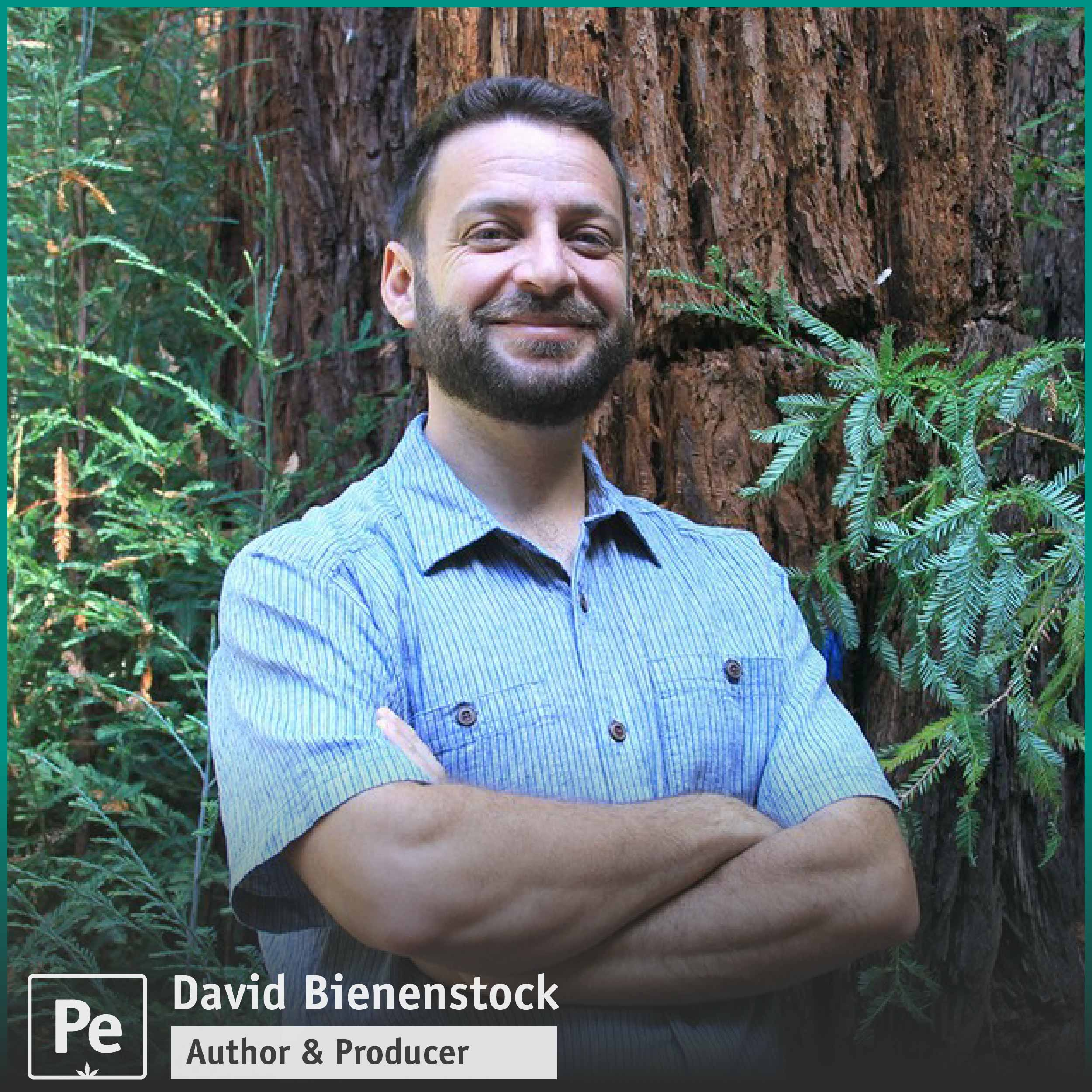 David Bienenstock author and producer of cannabis media and podcast host on Great Moments in Weed History