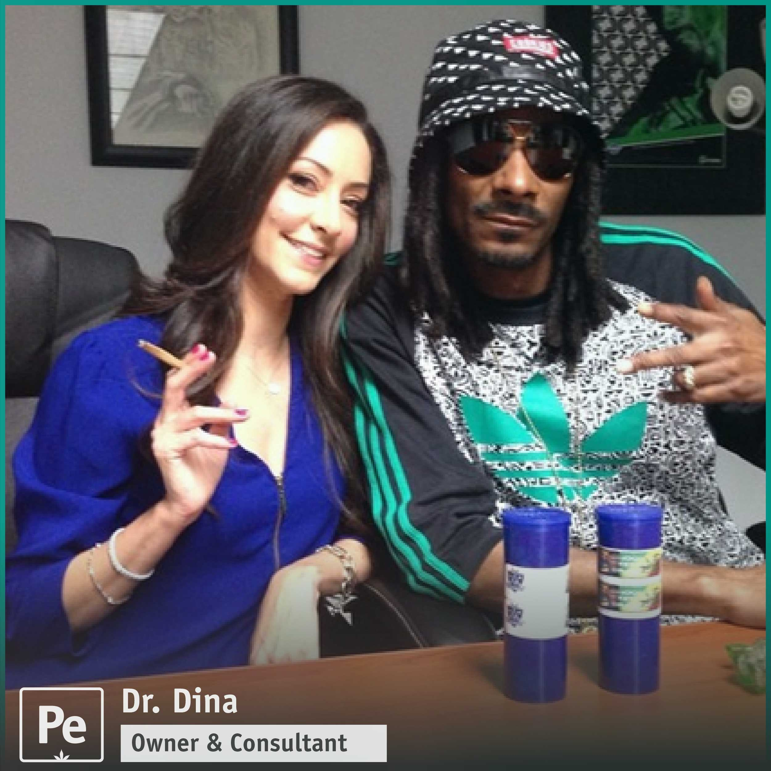 Dr. Dina, cannabis consultant on Netflix Disjointed and dispensary owner in California