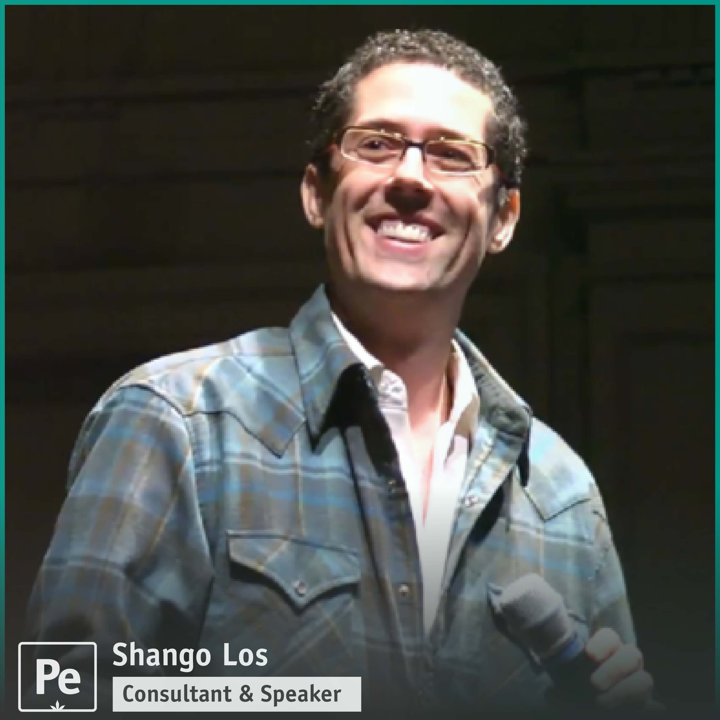 Shango Los, cannabis educator, consultant, speaker and podcast host of Shaping Fire