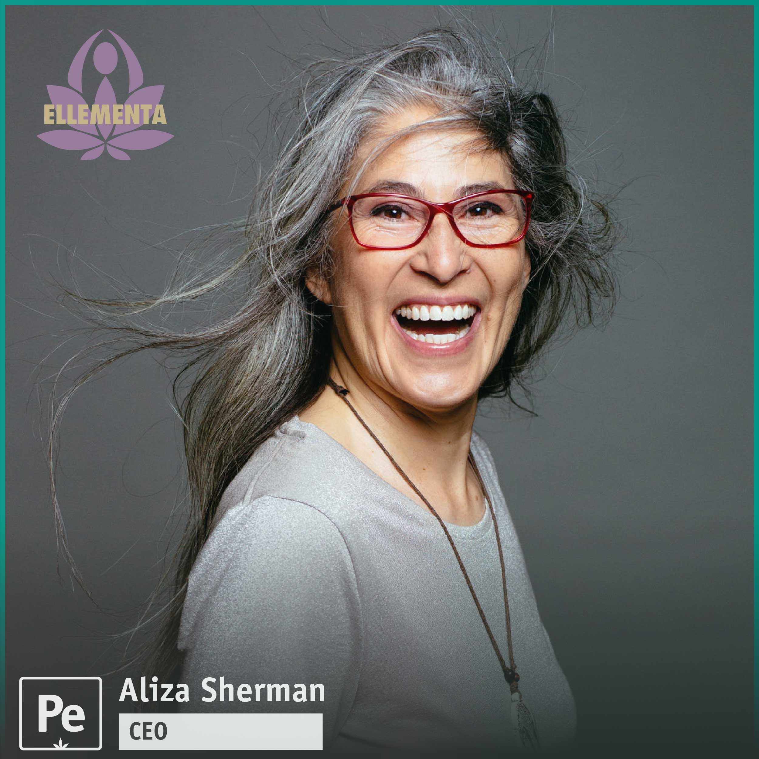 Aliza Sherman, CEO of Ellementa, a global network offering cannabis education for women