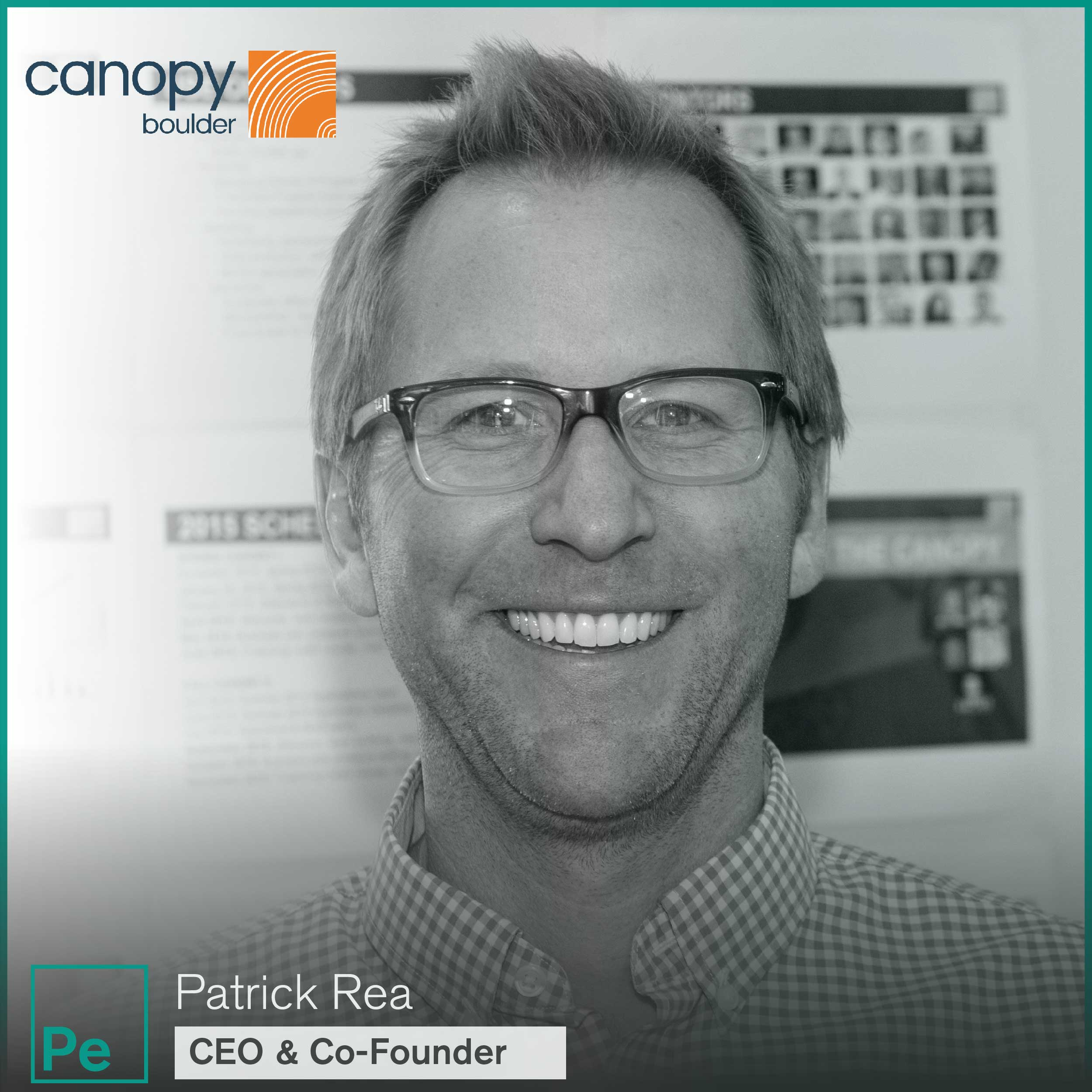 Patrick Rea, CEO and Co-Founder of Canopy Boulder, a cannabis accelerator investing in cannabis companies at the seed stage.