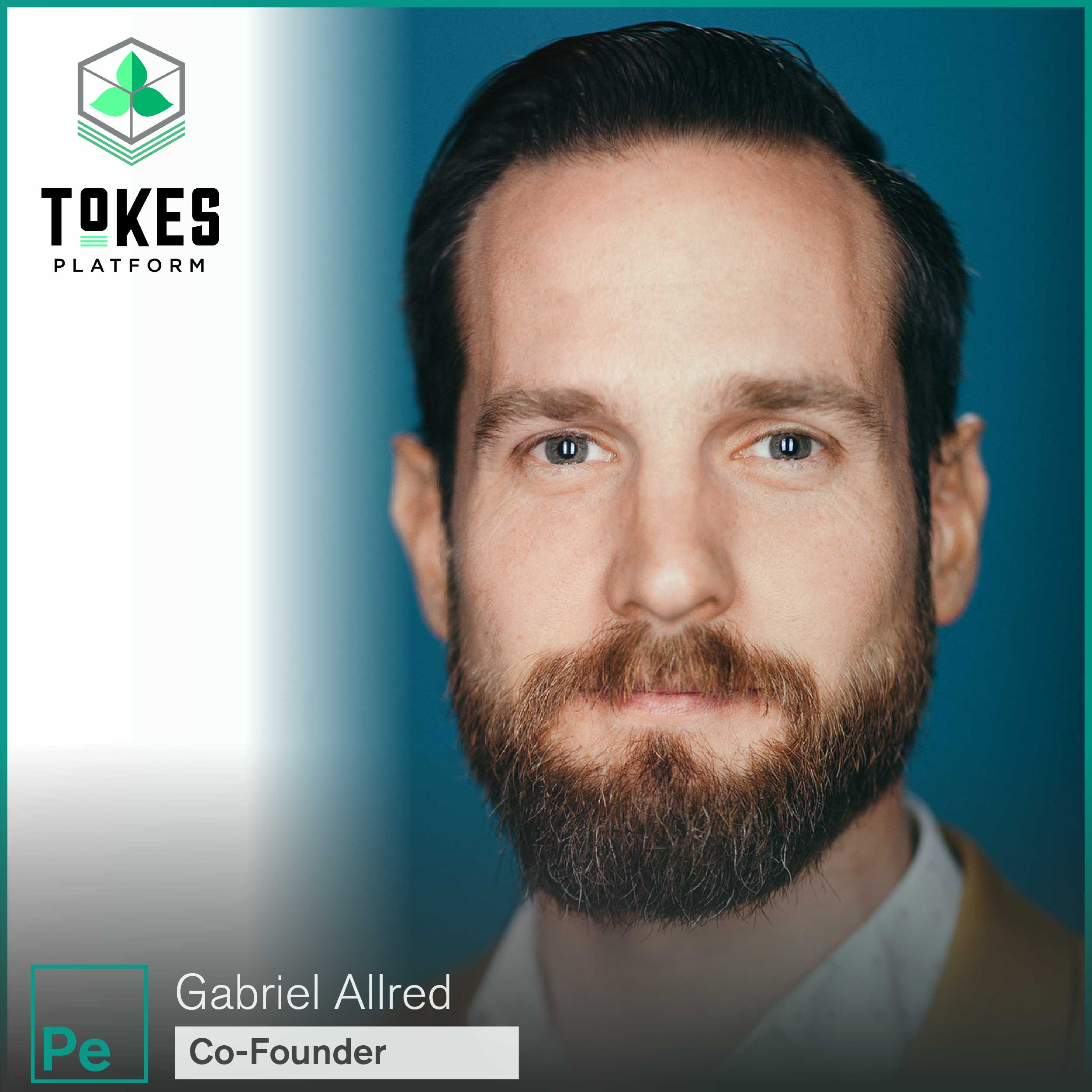 Gabriel Allred, Co-Founder of Tokes Platform, a crypto currency and blockchain company for the cannabis industry