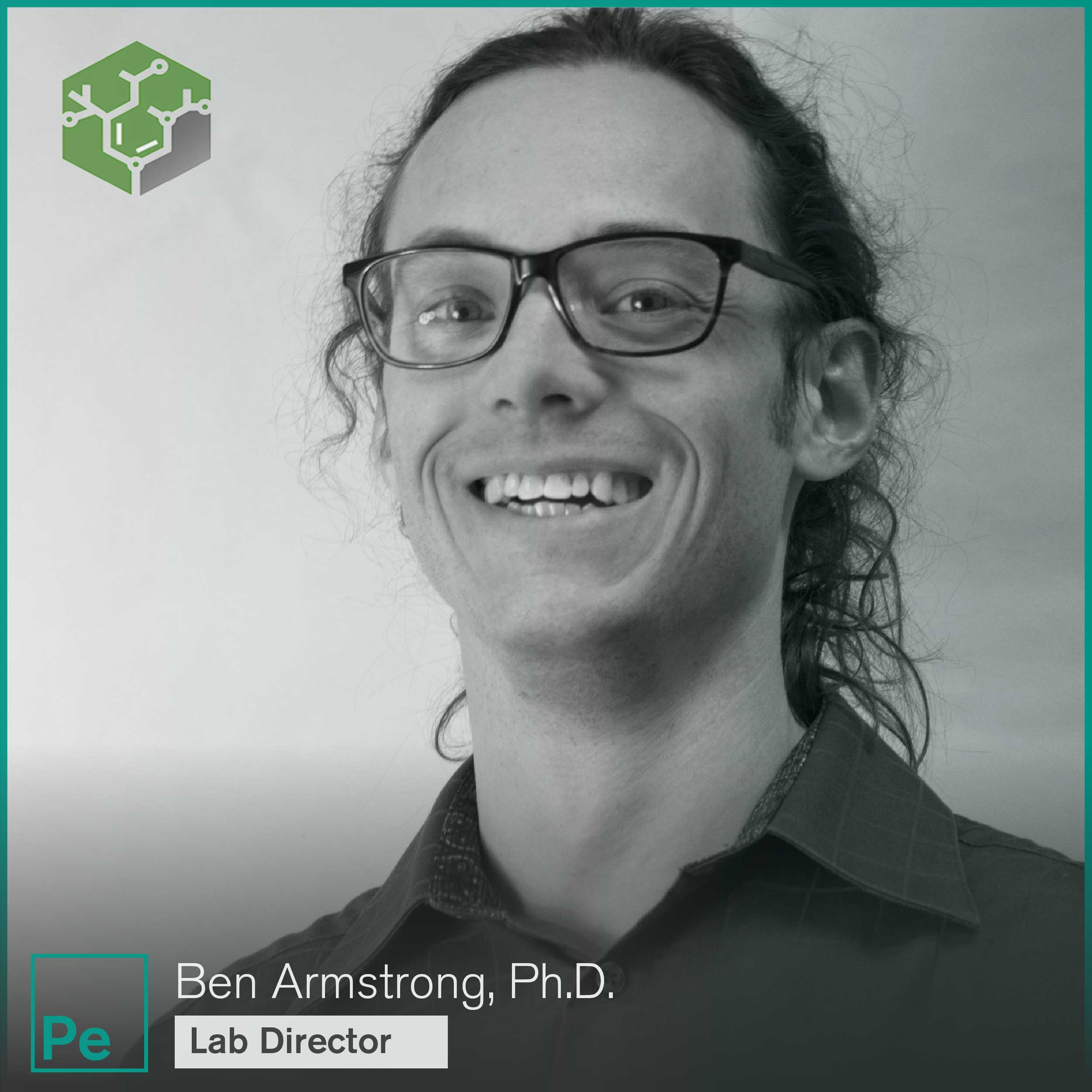 Ben Armstrong, Ph.D., Lab Director for Juniper Analytics, a cannabis testing lab in Bend, Oregon