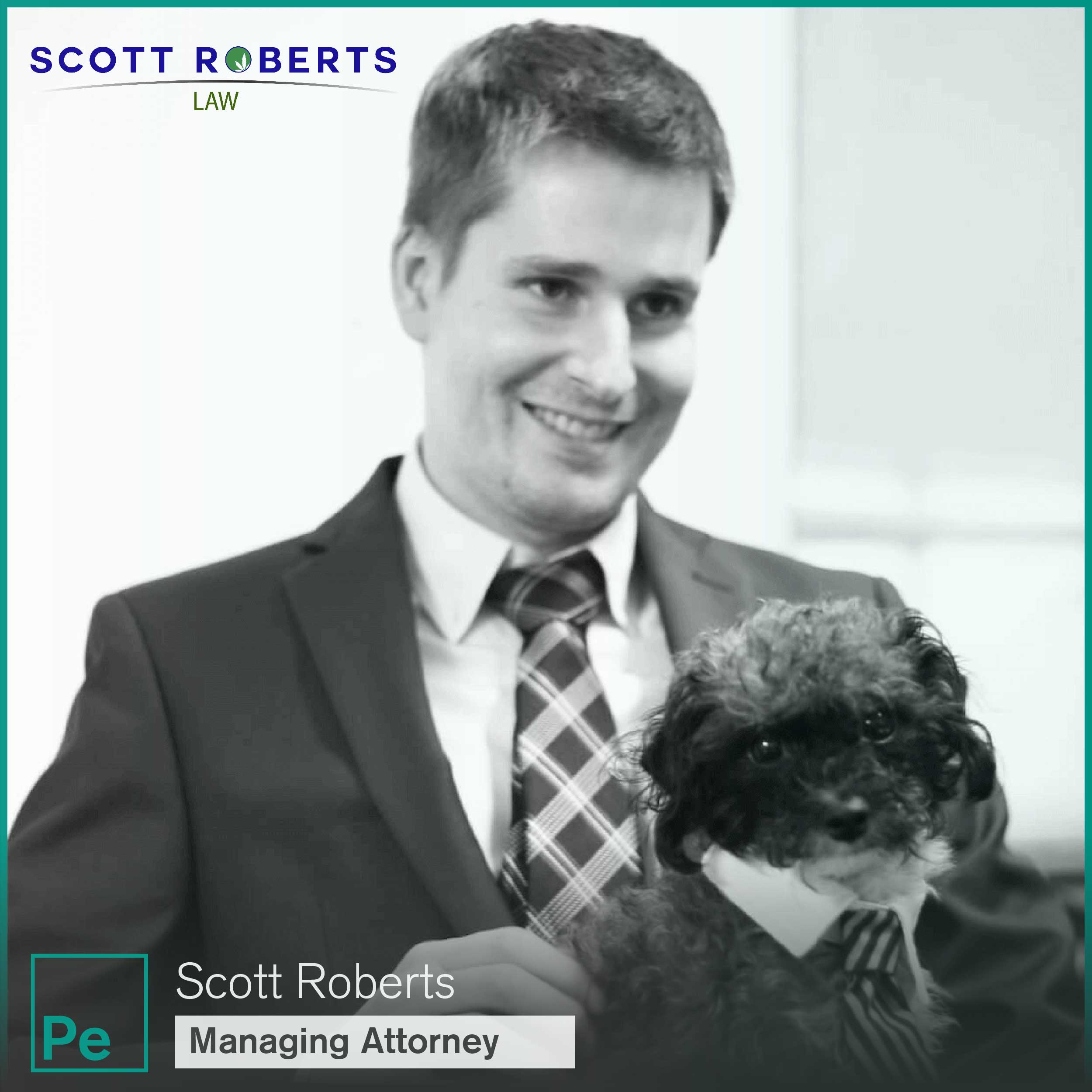 Scott Roberts Law Owner and Managing Attorney, a firm focused on cannabis rules and regulations in Michigan