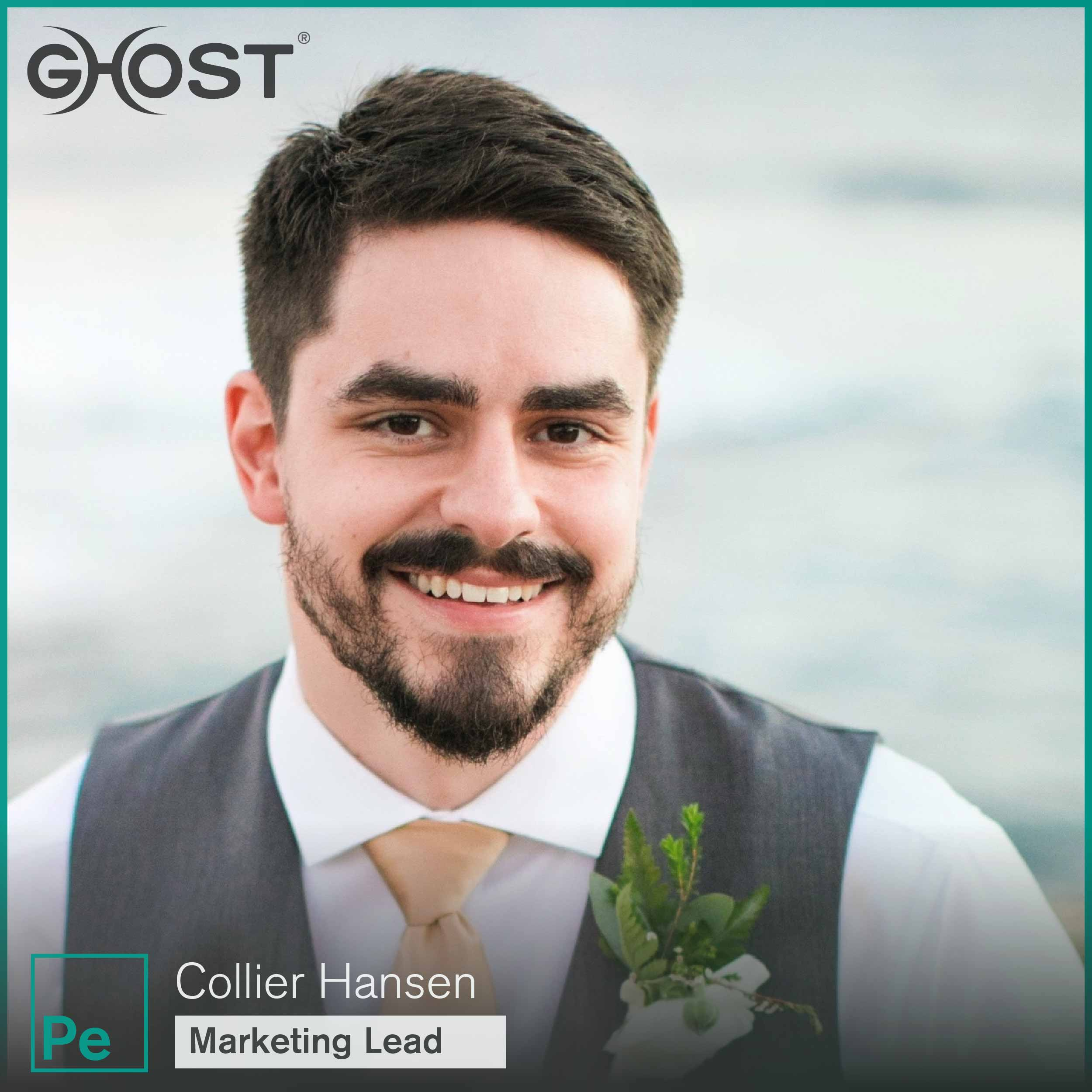 Collier Hansen, Marketing Lead for Ghost Vapes cannabis vaporizers.
