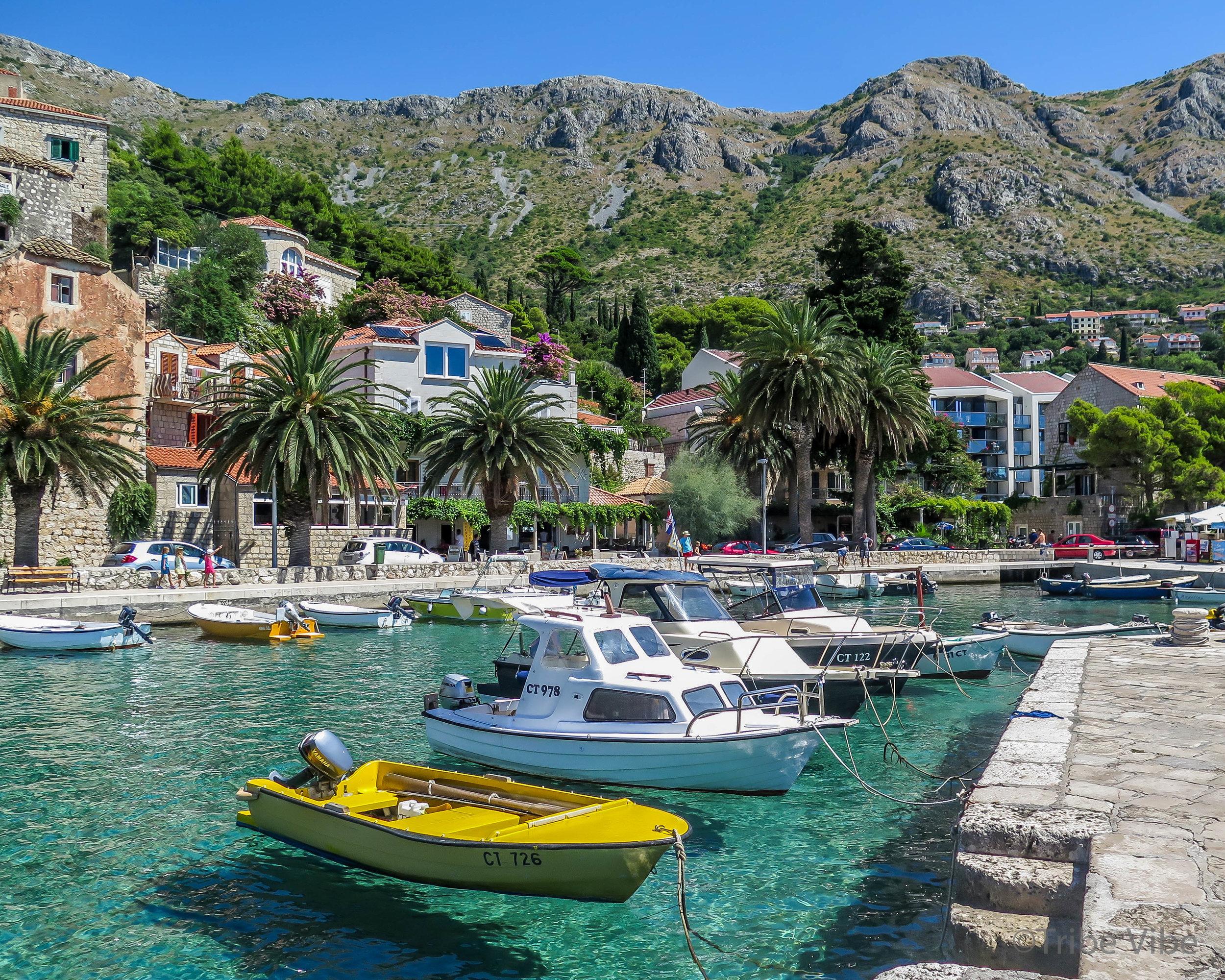 Croatia Road trip. Delightful Mlini, Croatia