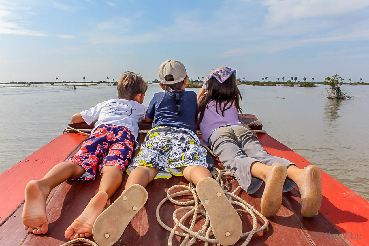 Cambodia boat tour