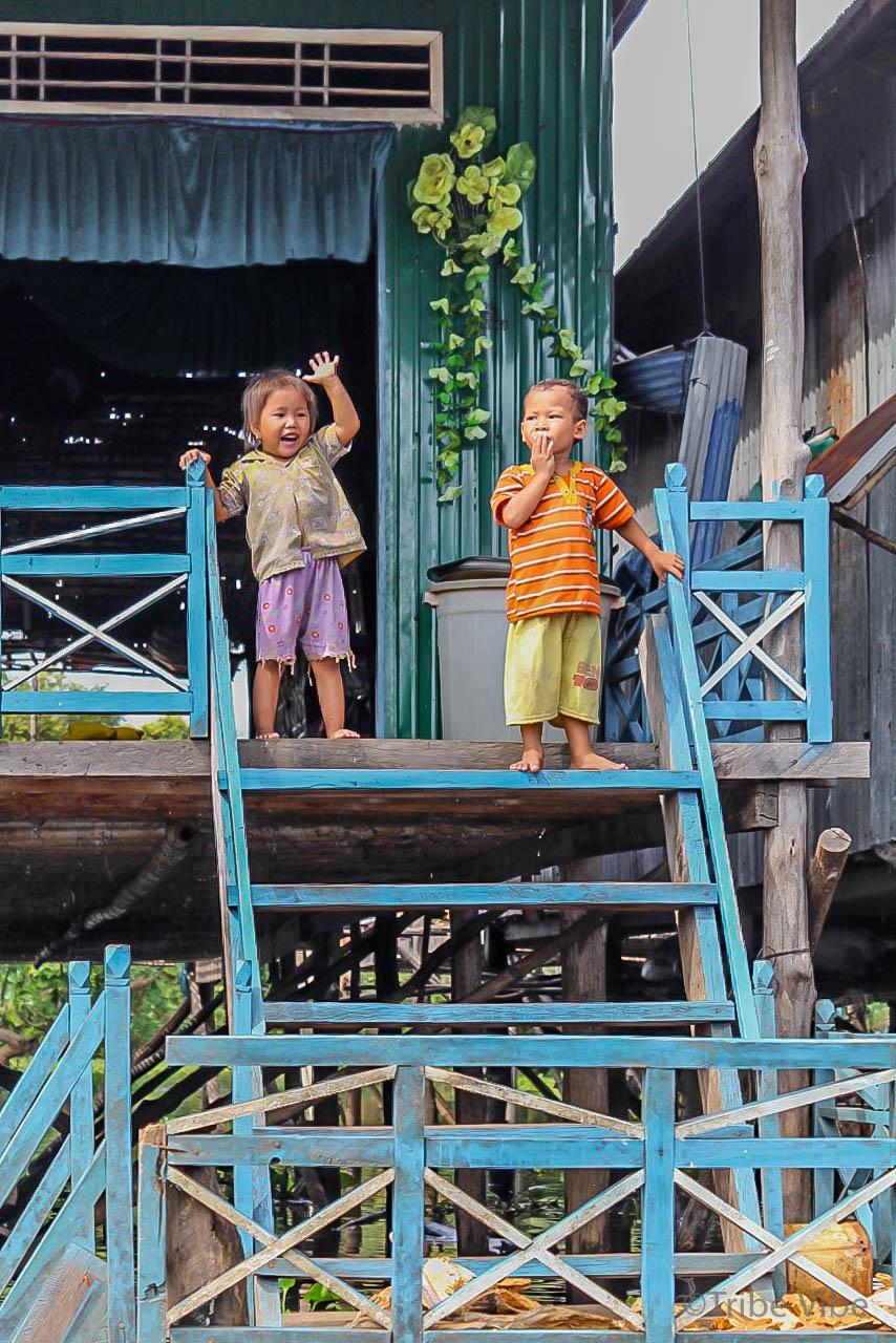 floating village Prek Toal