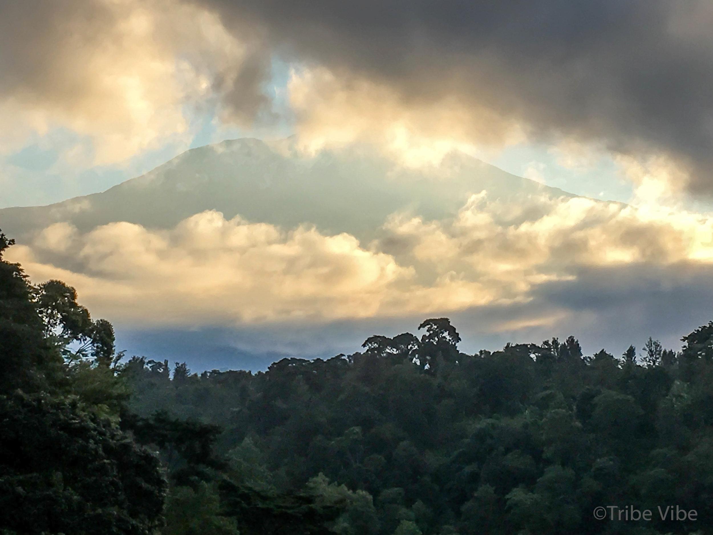 The beautiful Mount Kiliminjaro, Tanzania.