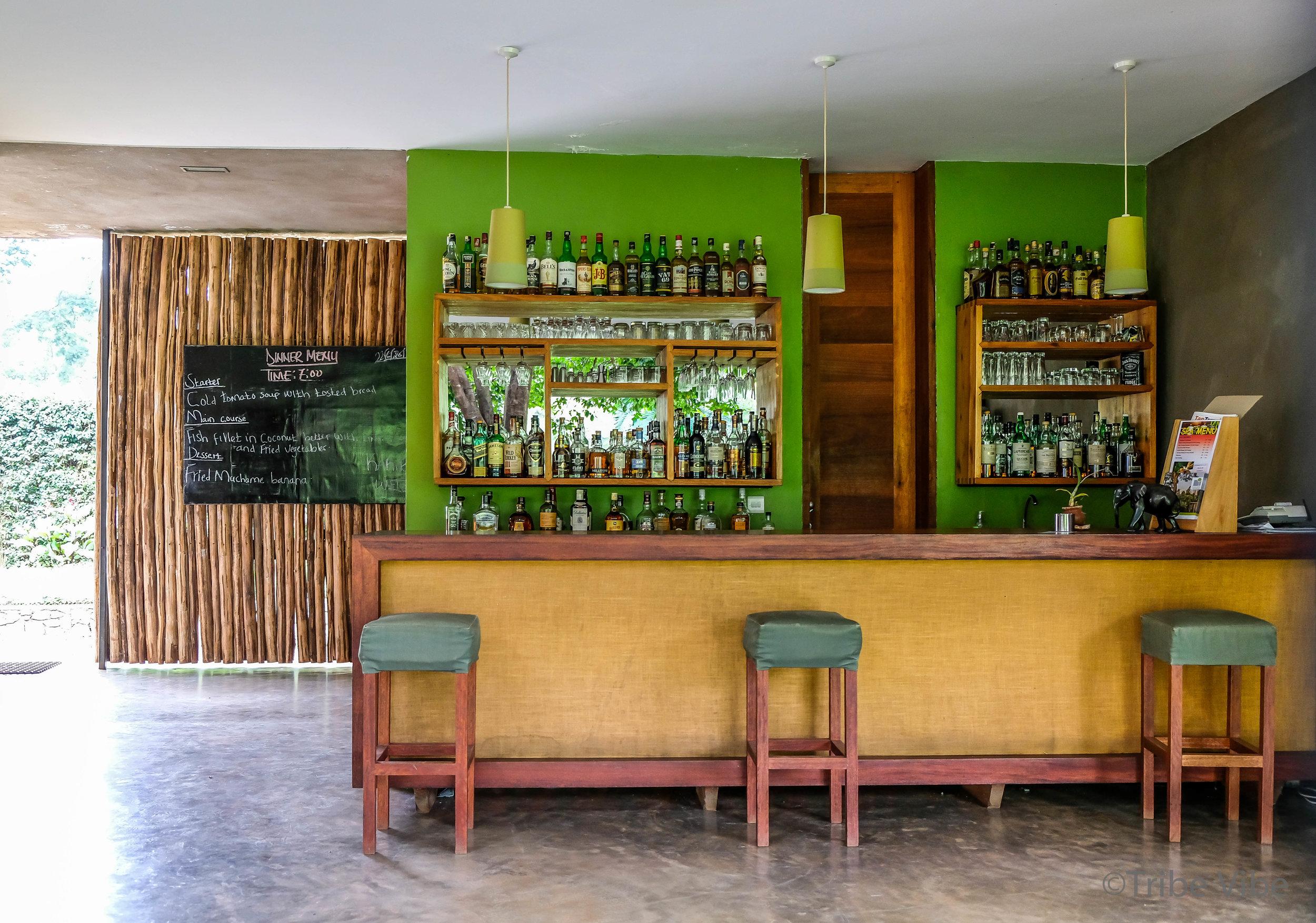 bar at Kaliwa Lodge. Tanzania.jpg