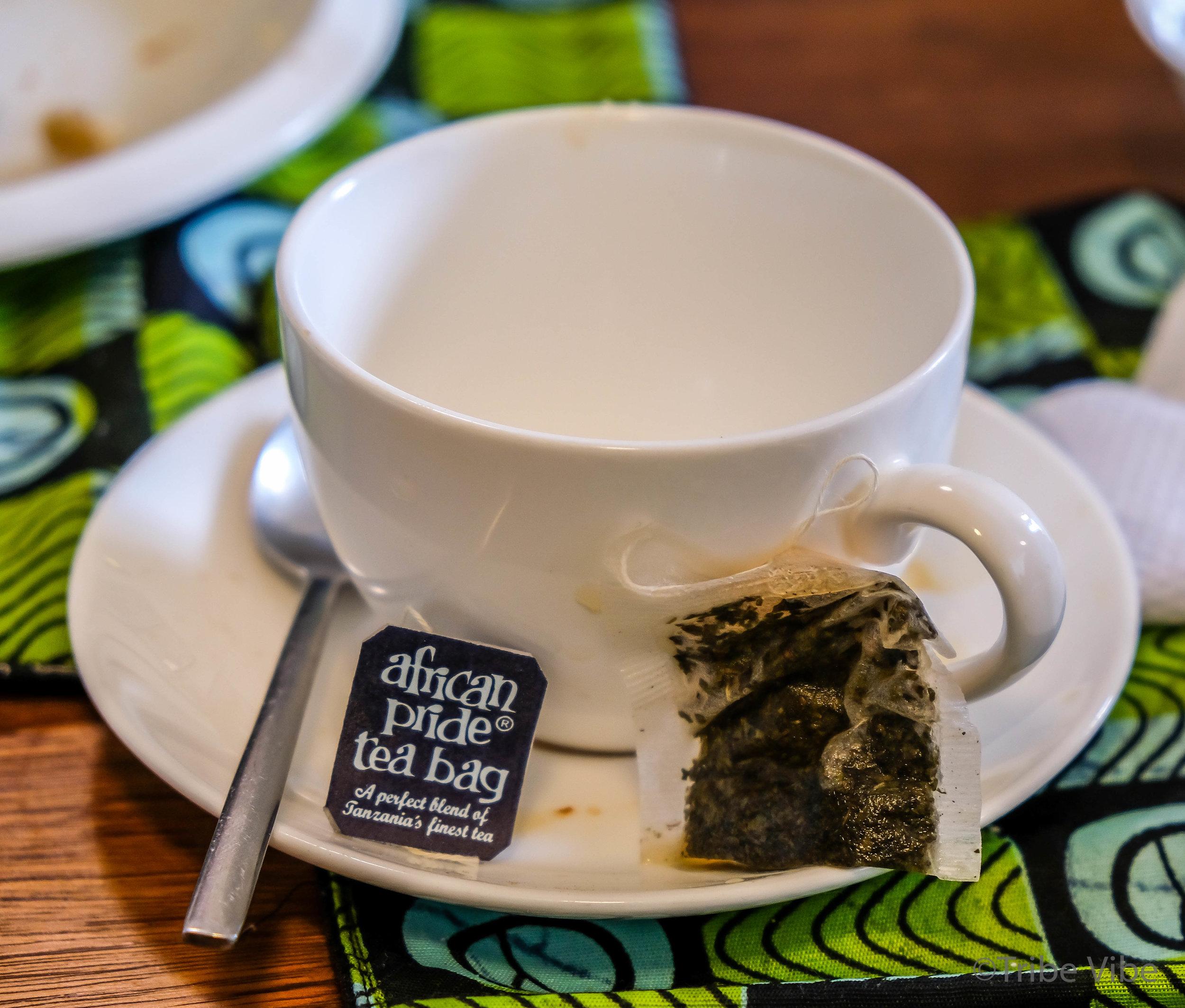 cup of tea at Kaliwa Lodge, Tanzania.jpg
