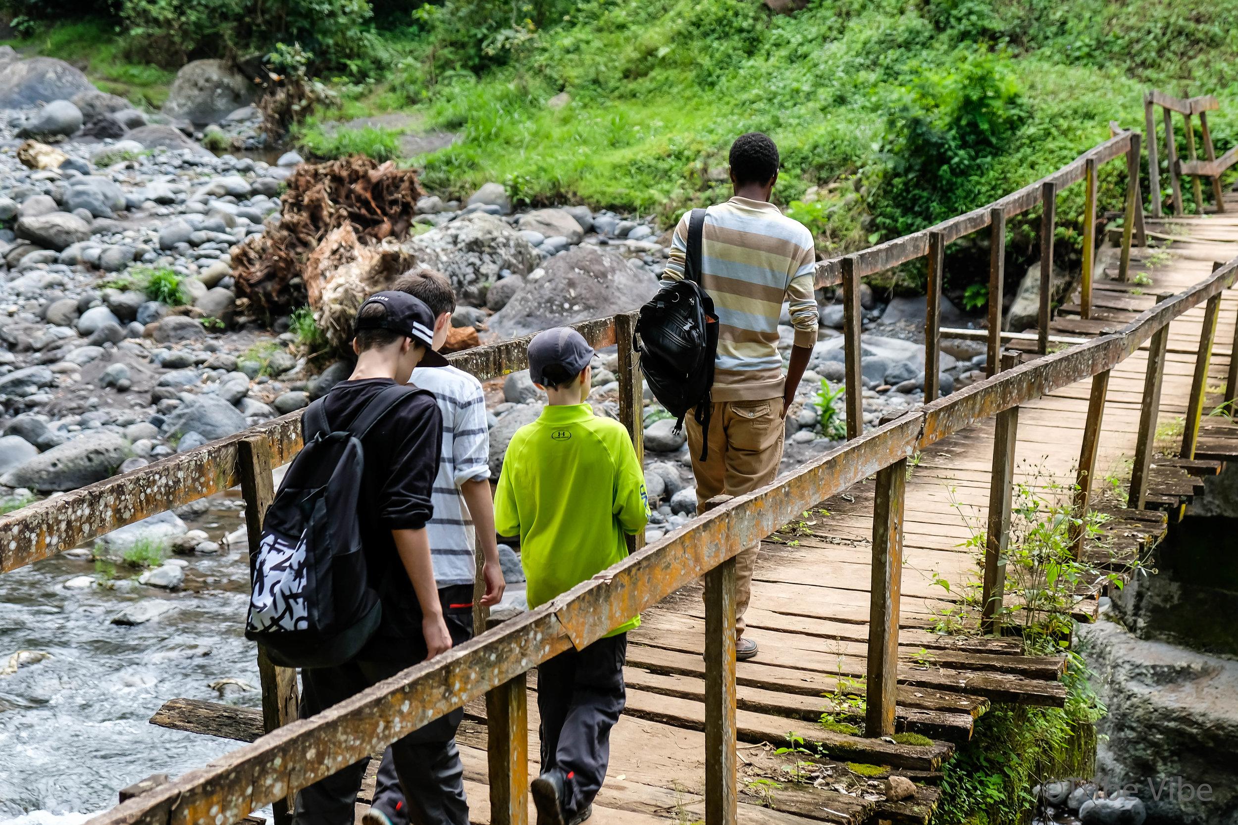 Machame walking trail to the bridge 3, Kilimanjaro.jpg
