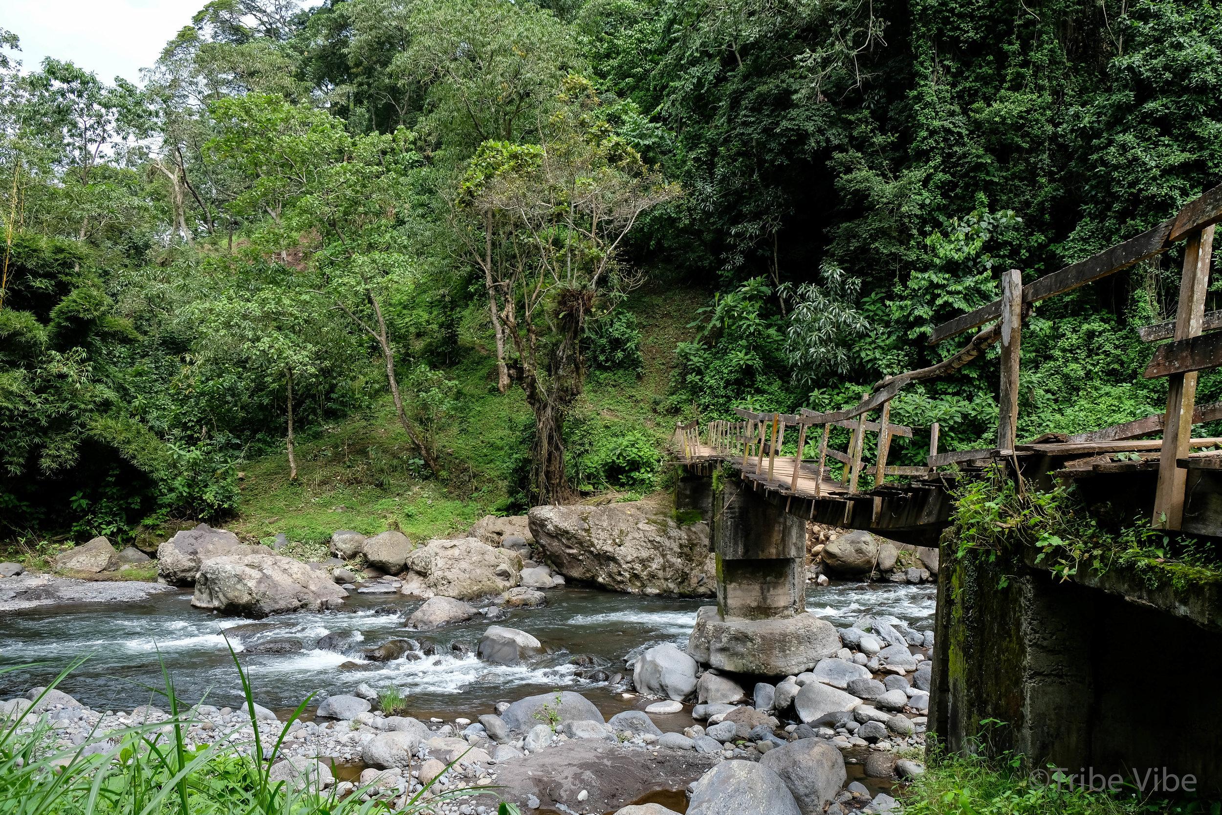 Machame walking trail to the bridge 5, Kilimanjaro.jpg
