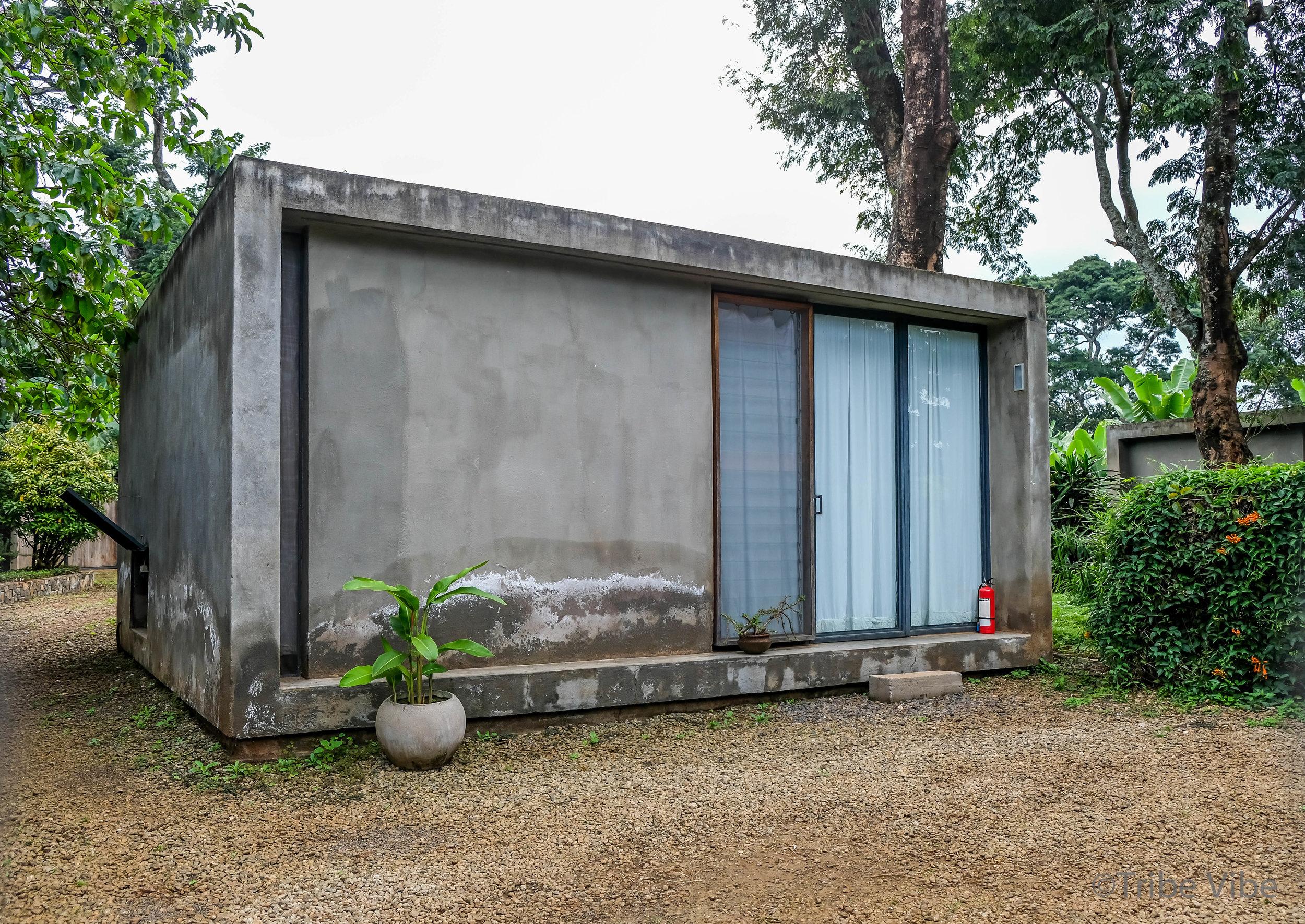 Our room at the  Kaliwa Lodge . Moshi, Tanzania.