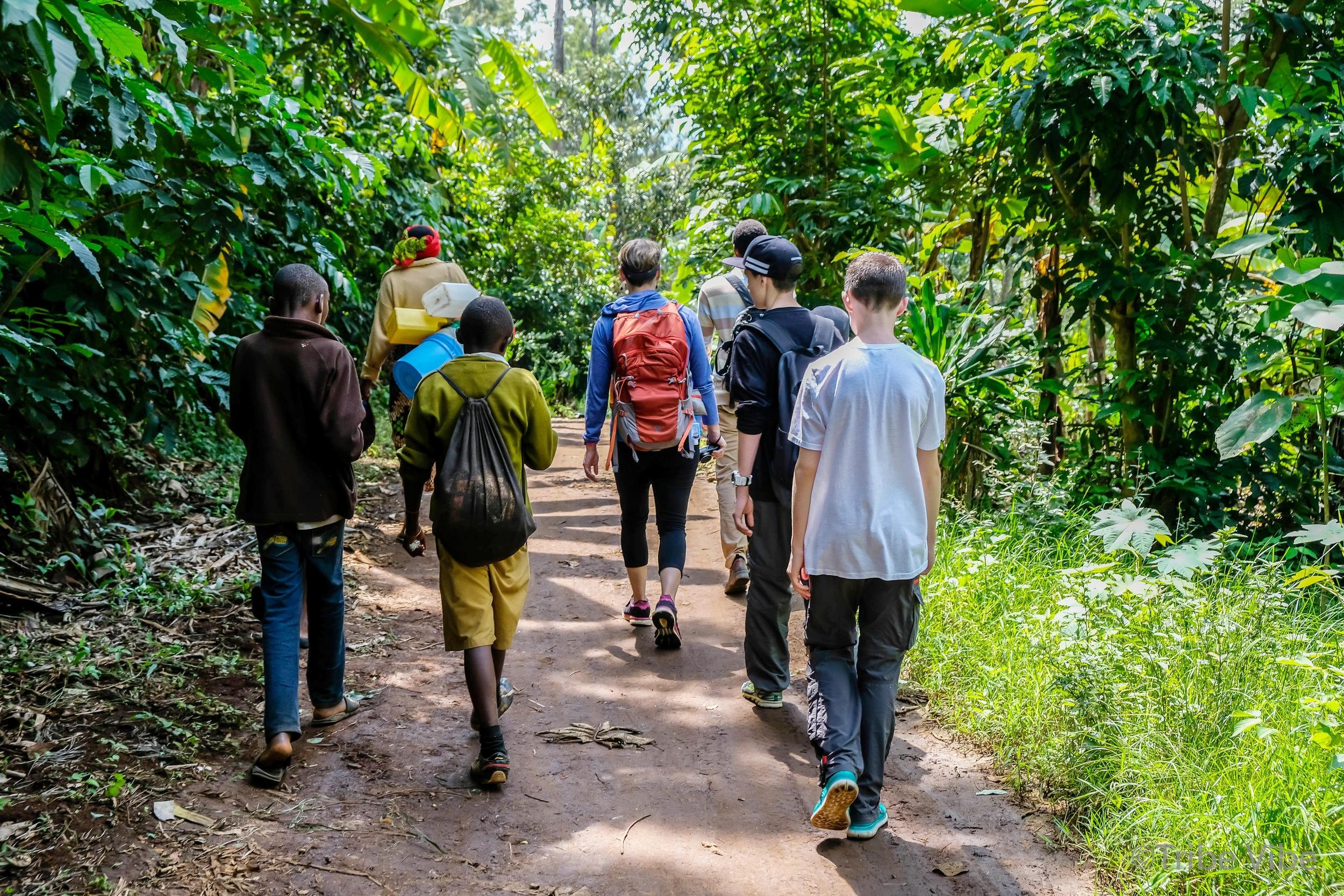 walking to waterfall, kilimanjaro 6.jpg