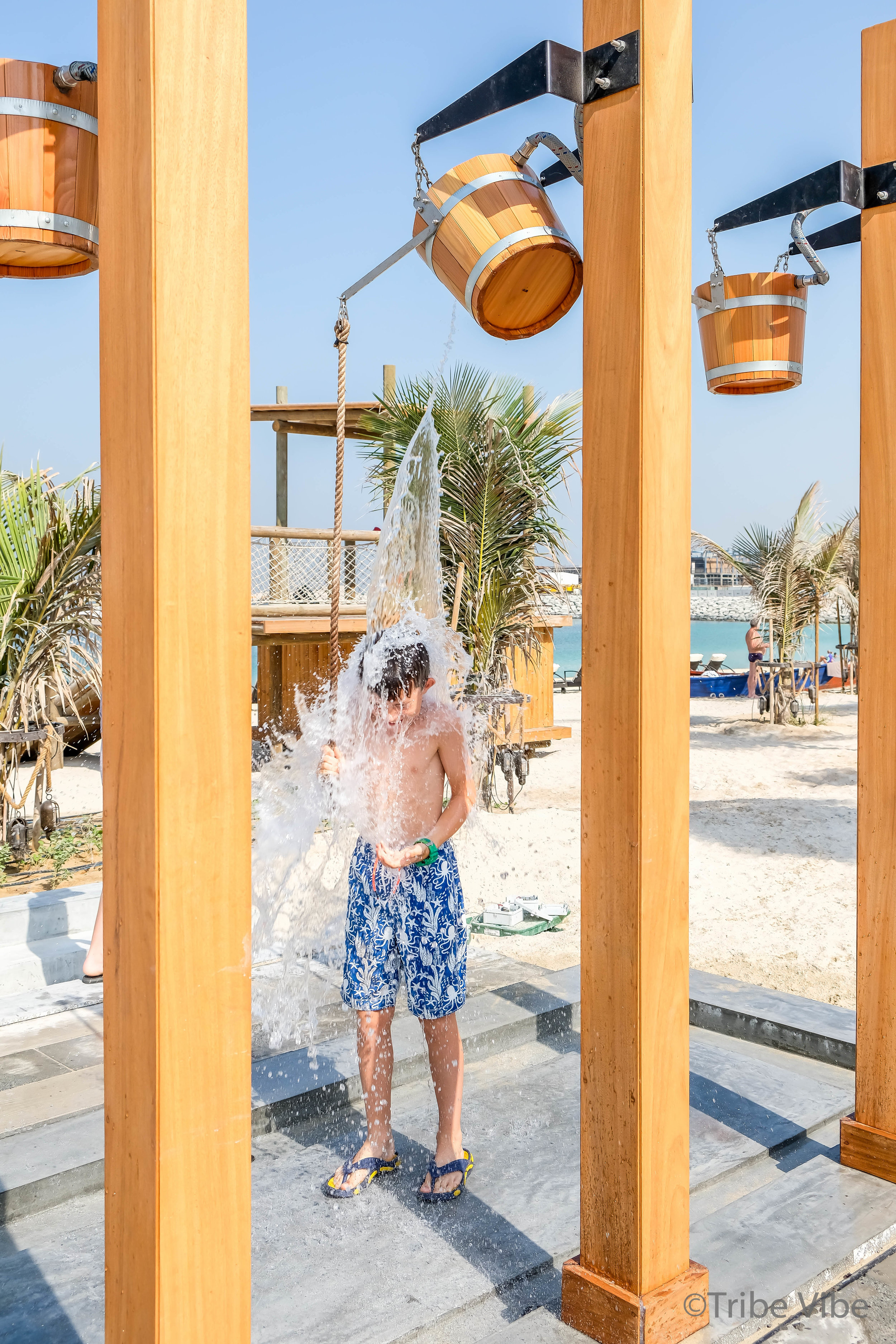 bucket showers at La Mer Dubai1.jpg