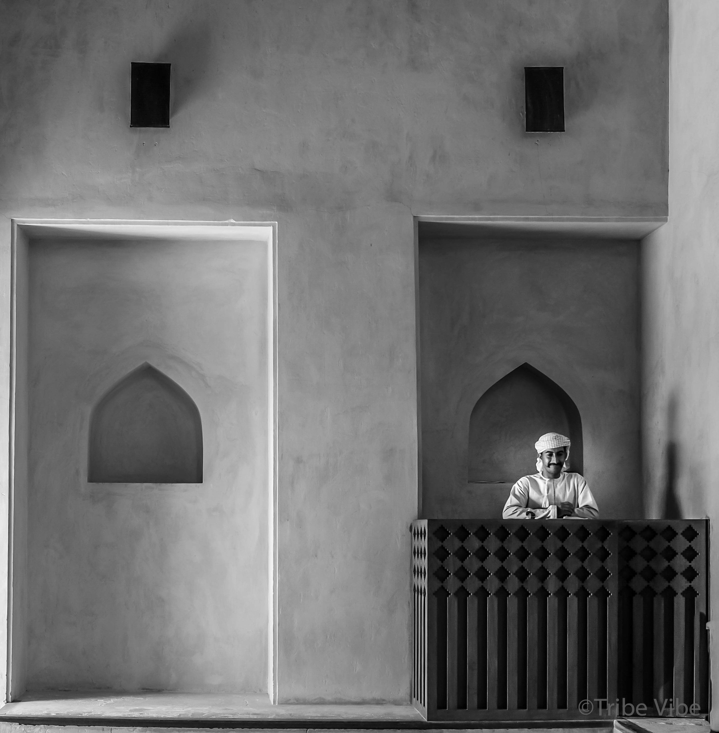 Omani man at Bahla Fort, Oman