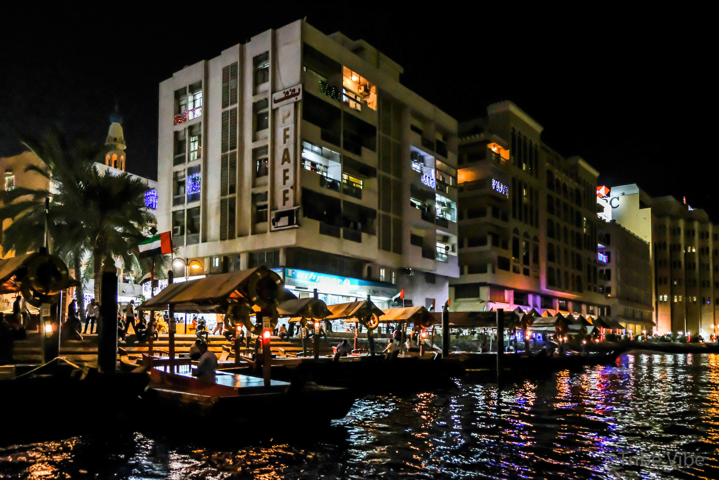 The Abra station in Bur Dubai