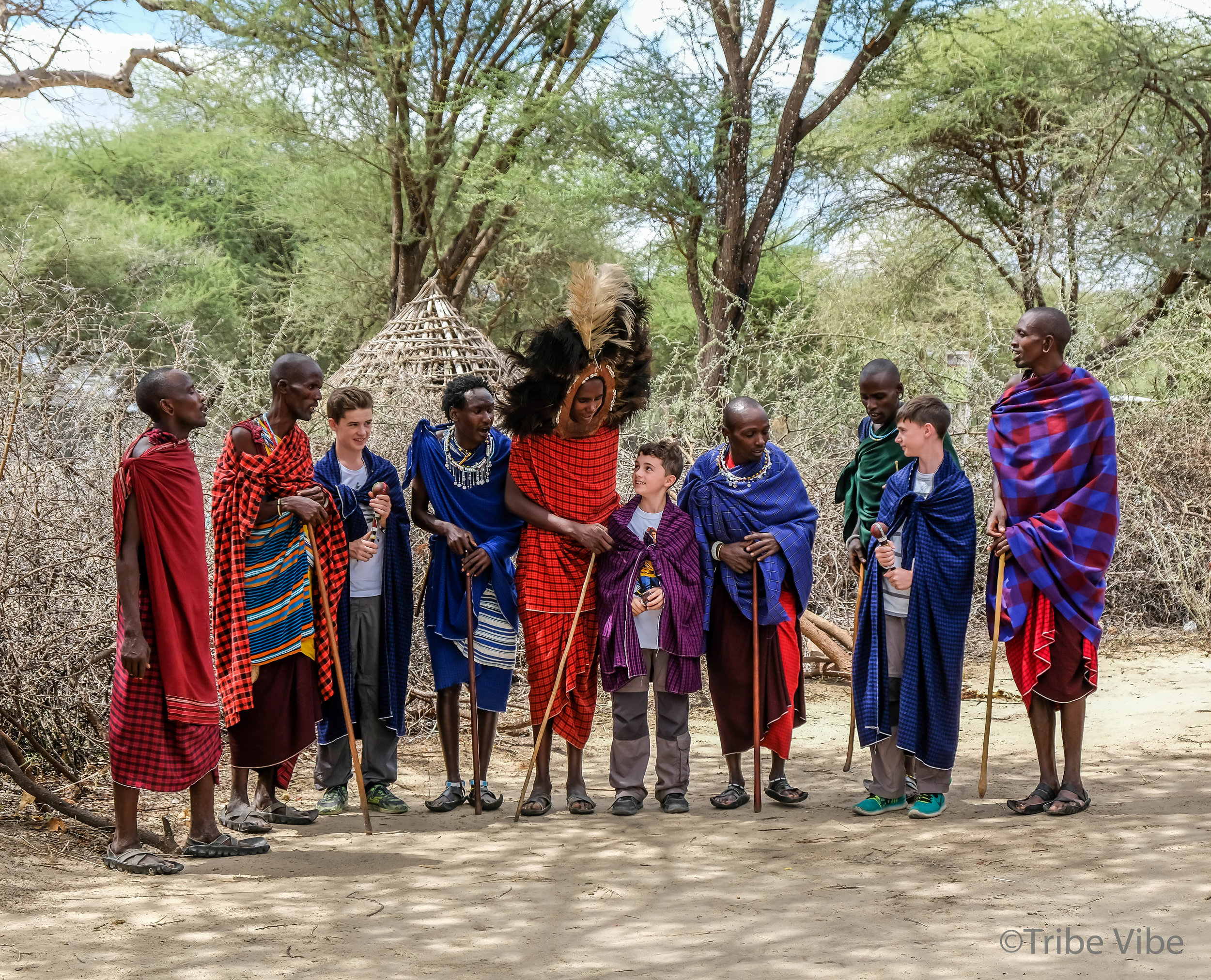 Learning to jump like a Masai