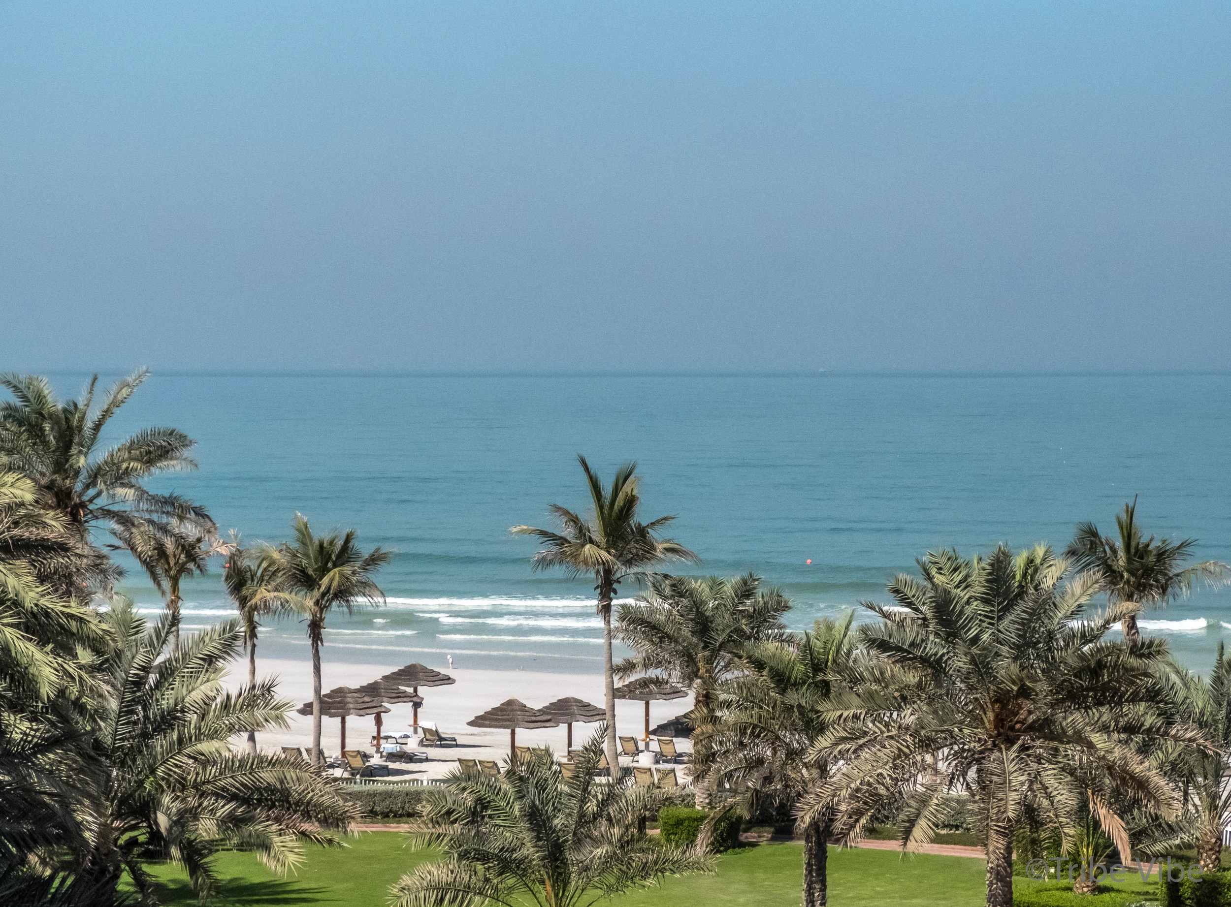 Looking out onto the Arabian Sea. What a view!