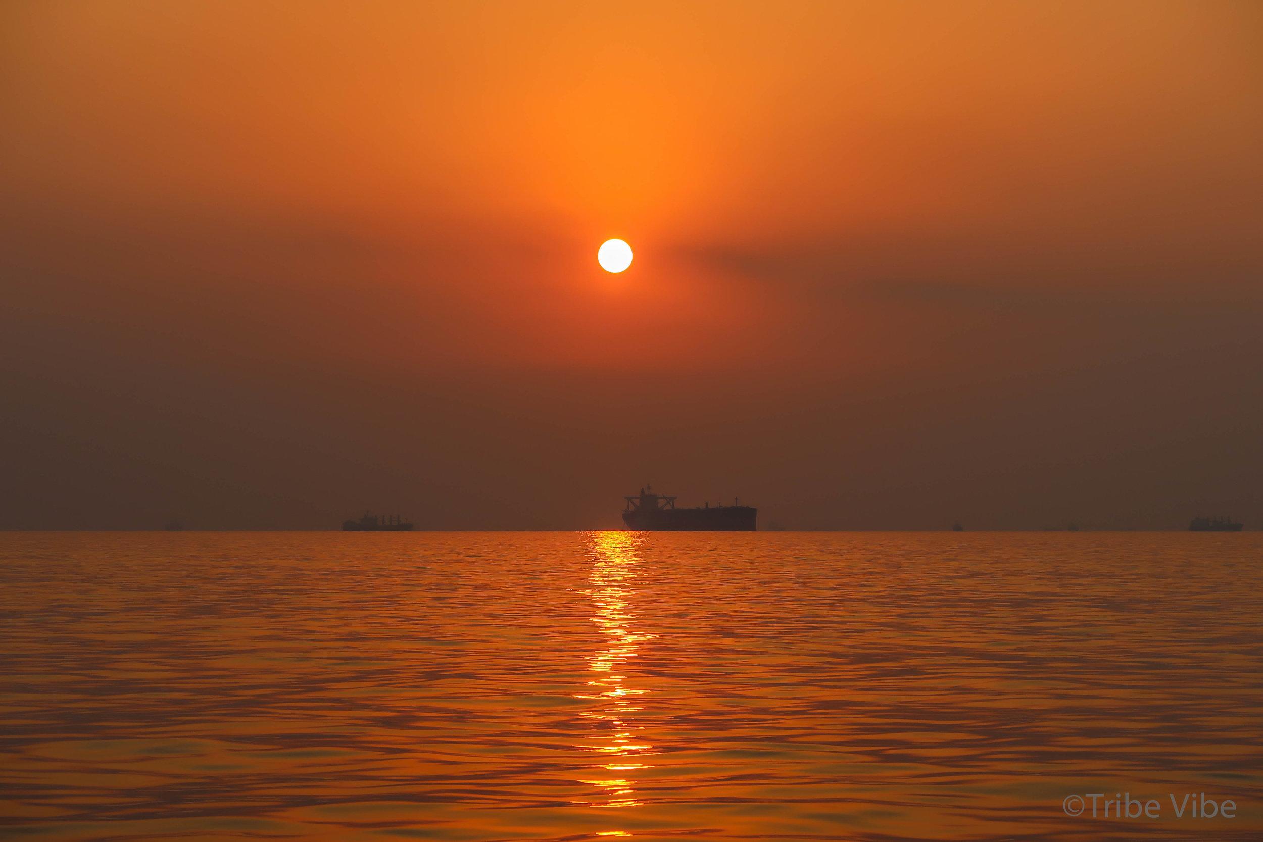 Breathtaking Arabian sunsets