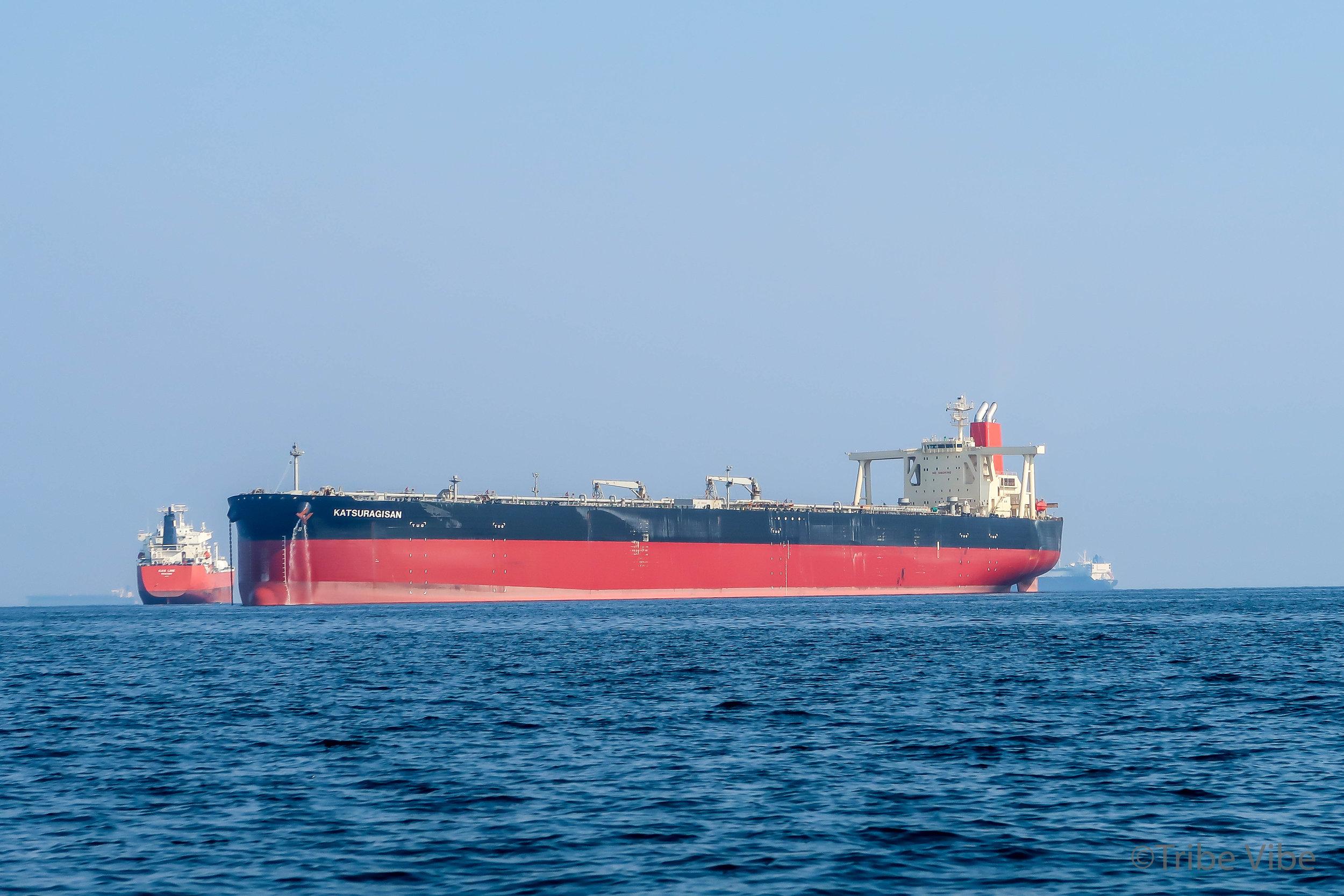 freight boats on the Arabian sea off coast of Fujairah 2.jpg