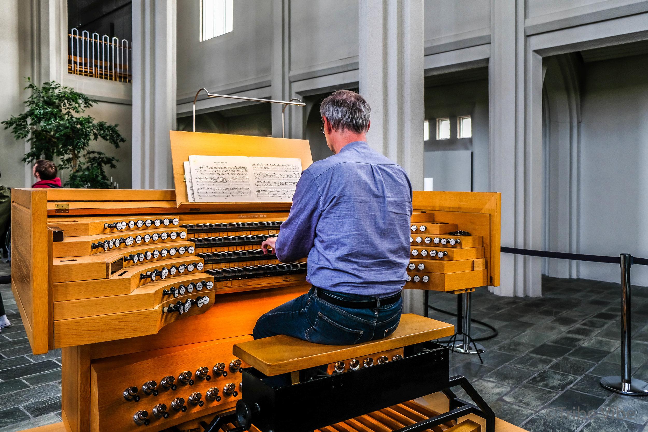 Organ in Hallgrimskirkja Church