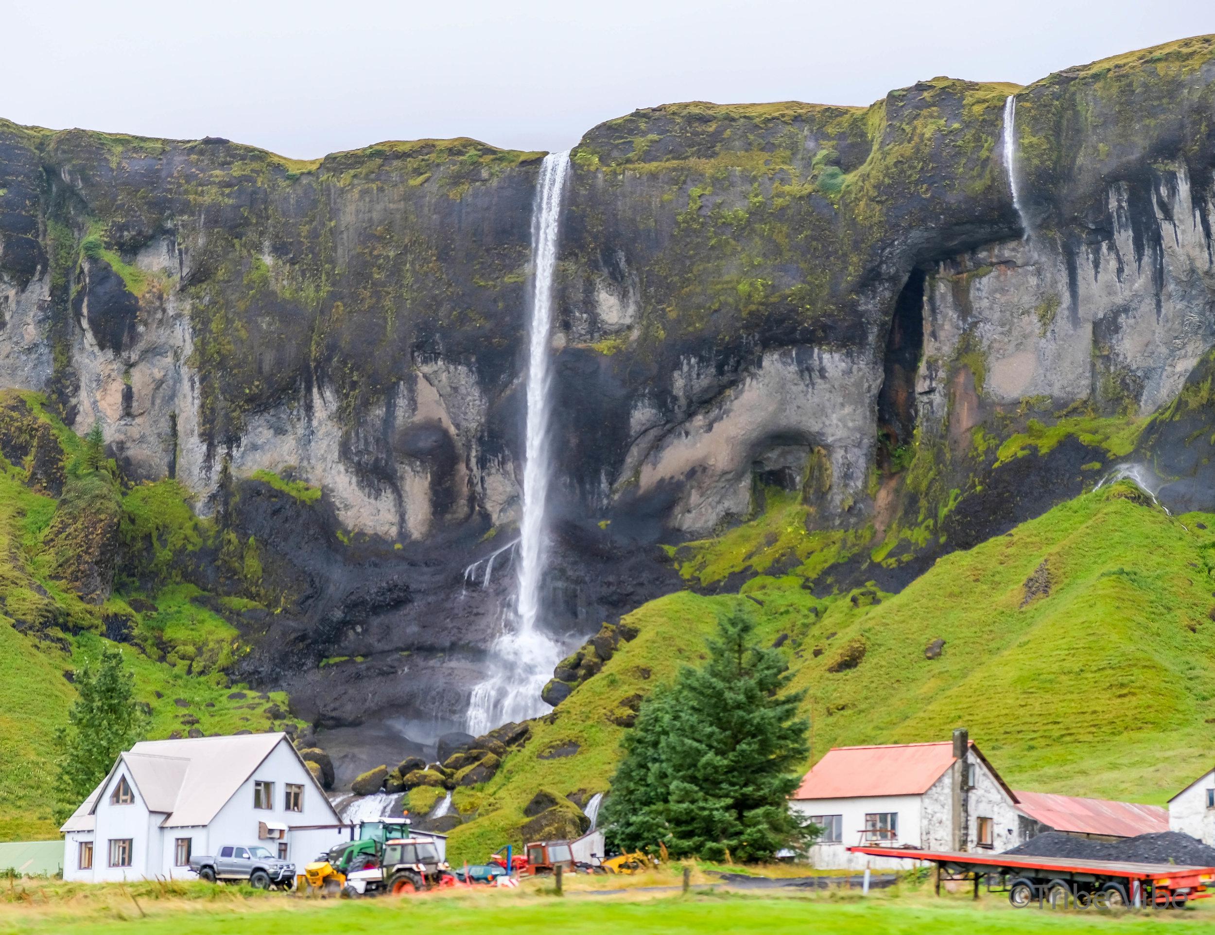 Imagine if you had a waterfall in your backyard?