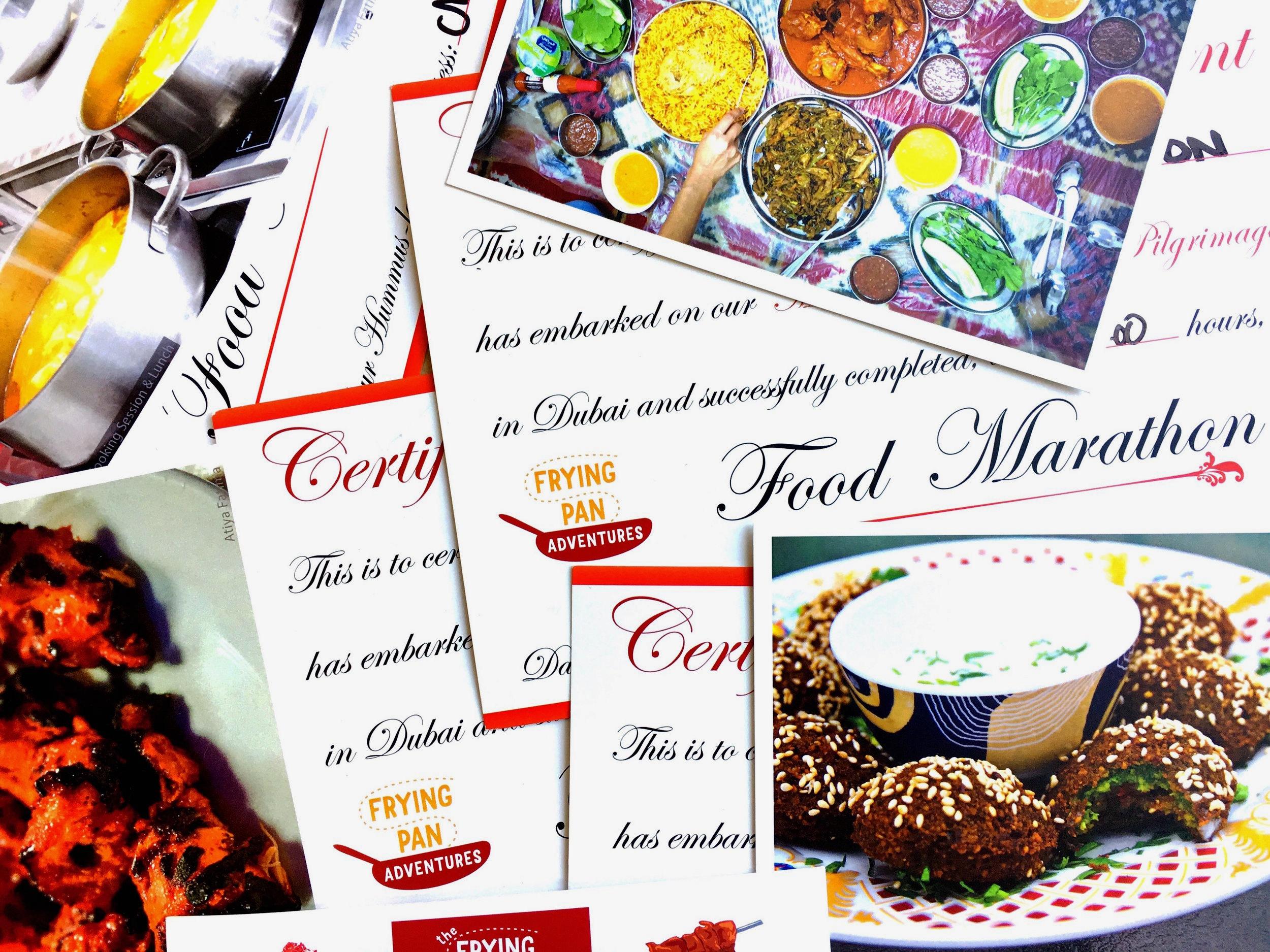 Frying Pan Adventures Food Marathon