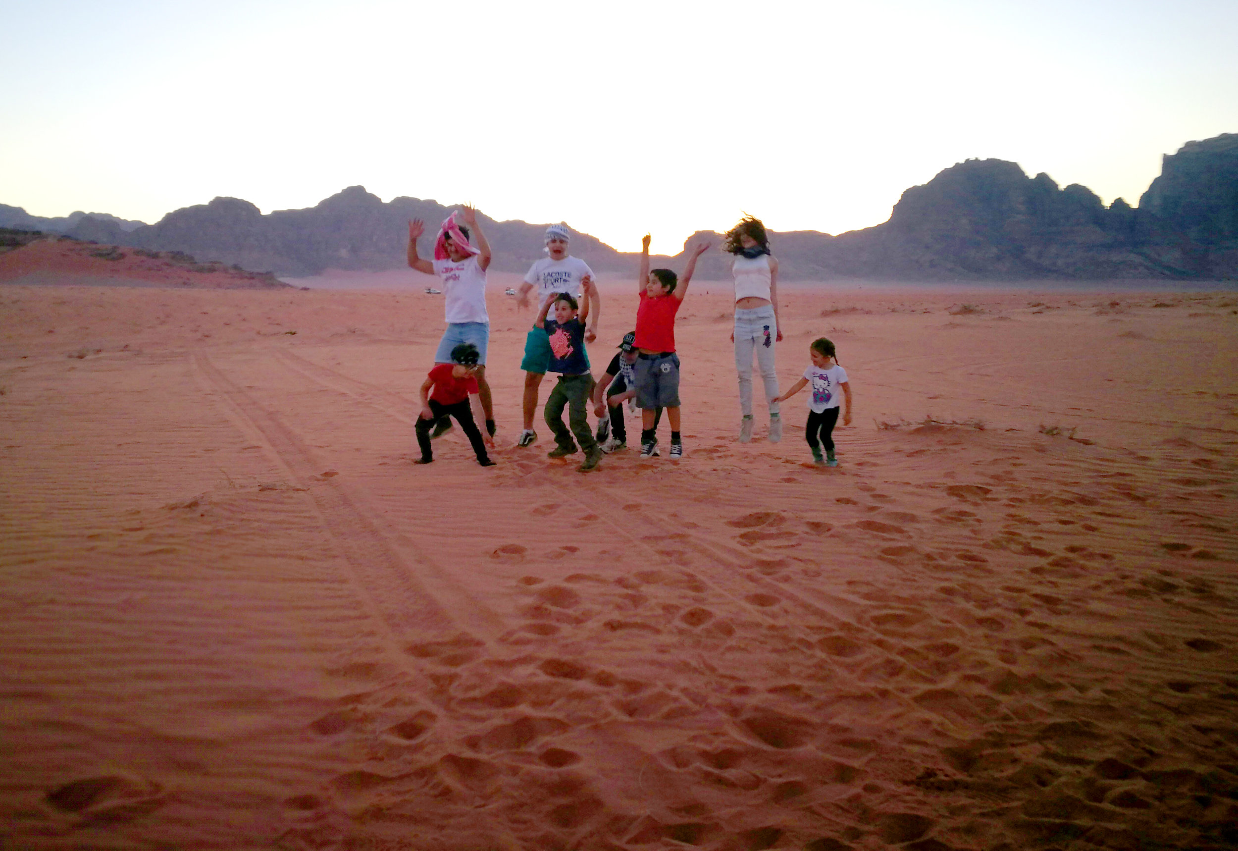 Night under the Stars: Wadi Rum