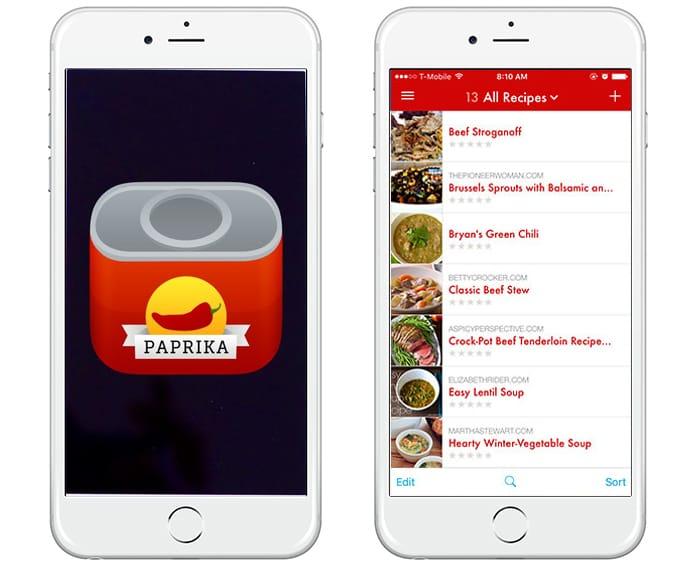 A cool recipe App - Paprika — Tribe Vibe
