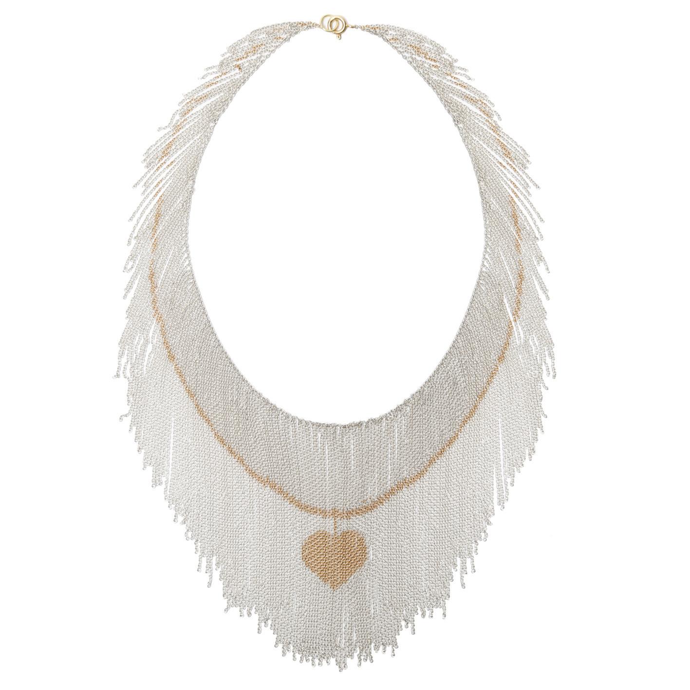 Elena Lara - Gold Heart Pendant