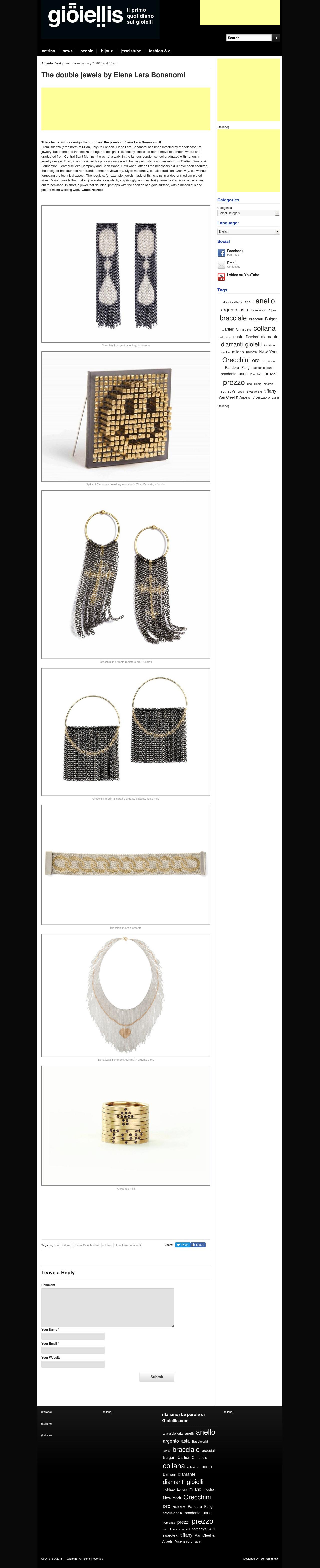 ELENALARA Jewellery - Gioiellis