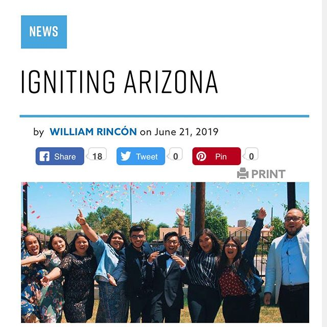 To God be the glory! The @ag_usa wrote an article on the work the Lord has been doing in Arizona in connection with @swdistrict.ag . Thank you to all the Pastors, leaders, and parents. I am forever grateful for believing in my calling and the doors God has open. Is because of the Generations of young people that I continue to strive to make the name of Jesus known.  Link in bio  #agnews #AZ #ignite #schoolofministry  #anem