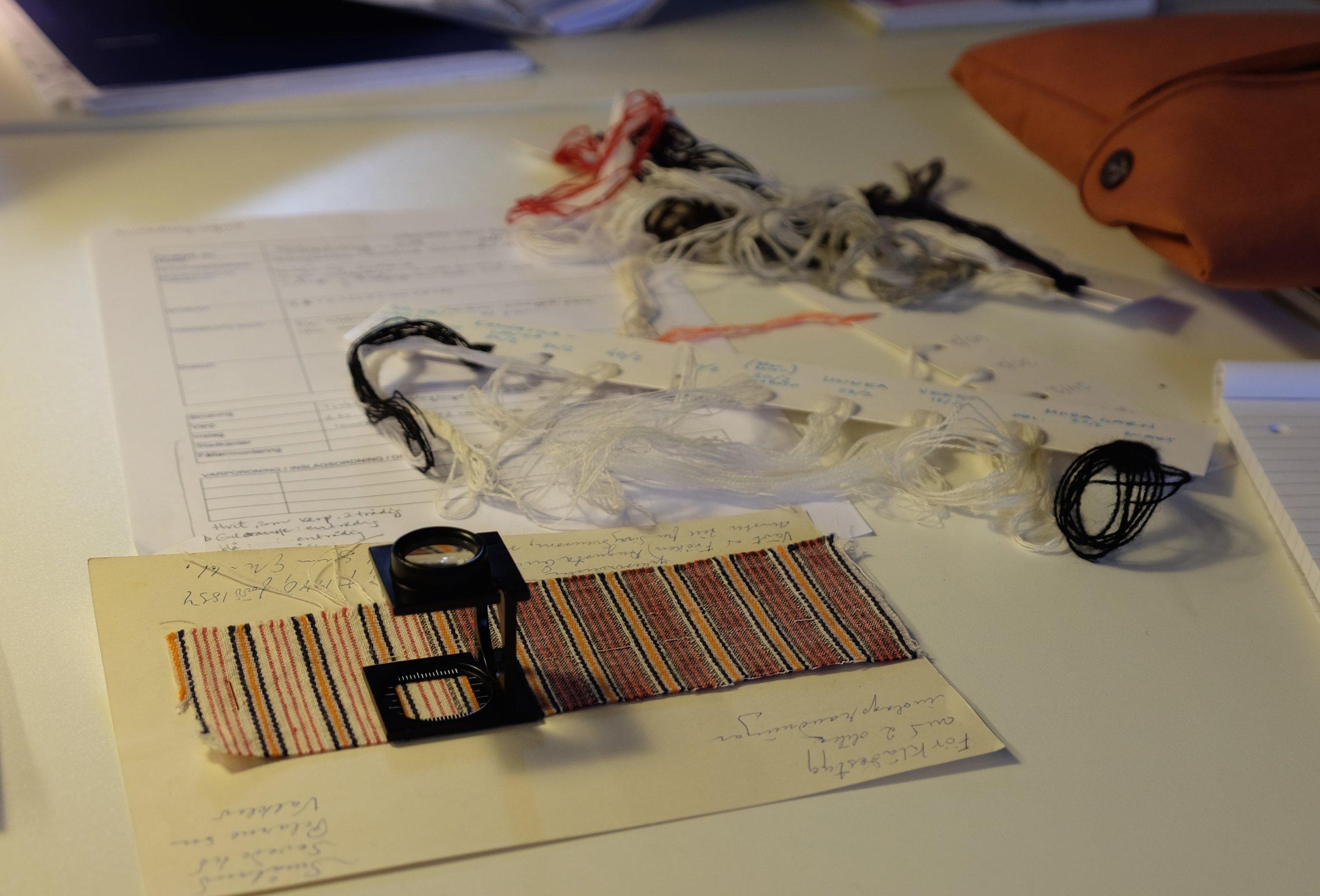 Copyright på bilder og nyframstilte tekstiler. Ønsker du å bruke bilder, ta kontakt.