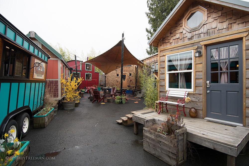 An image tiny homes on wheels at  Caravan- The Tiny House Hotel