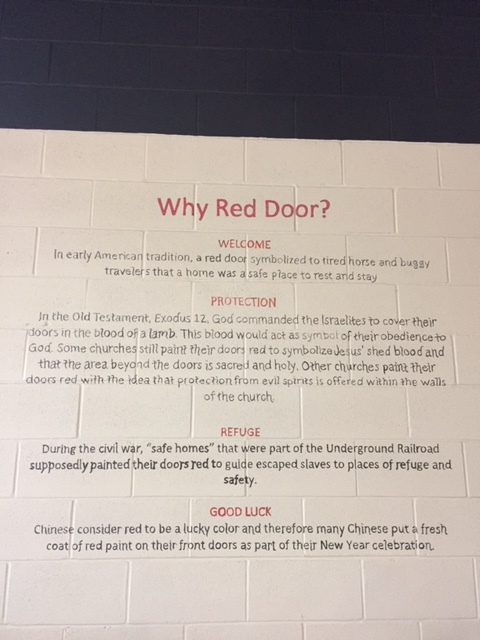 Why Red Door?