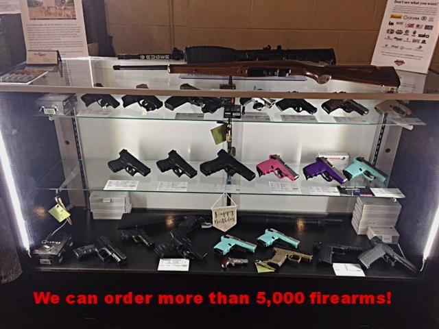 Gun case; We can order more than 5000 firearms