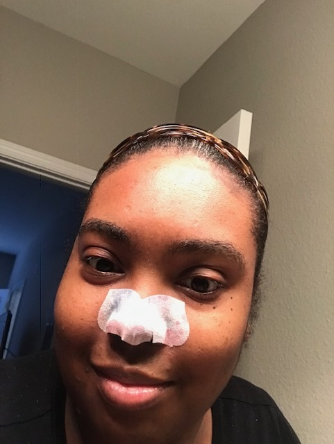 The PGP Founder loves using Pore Strips (by Biore) they help remove excess oil and they make your skin feel refreshed.