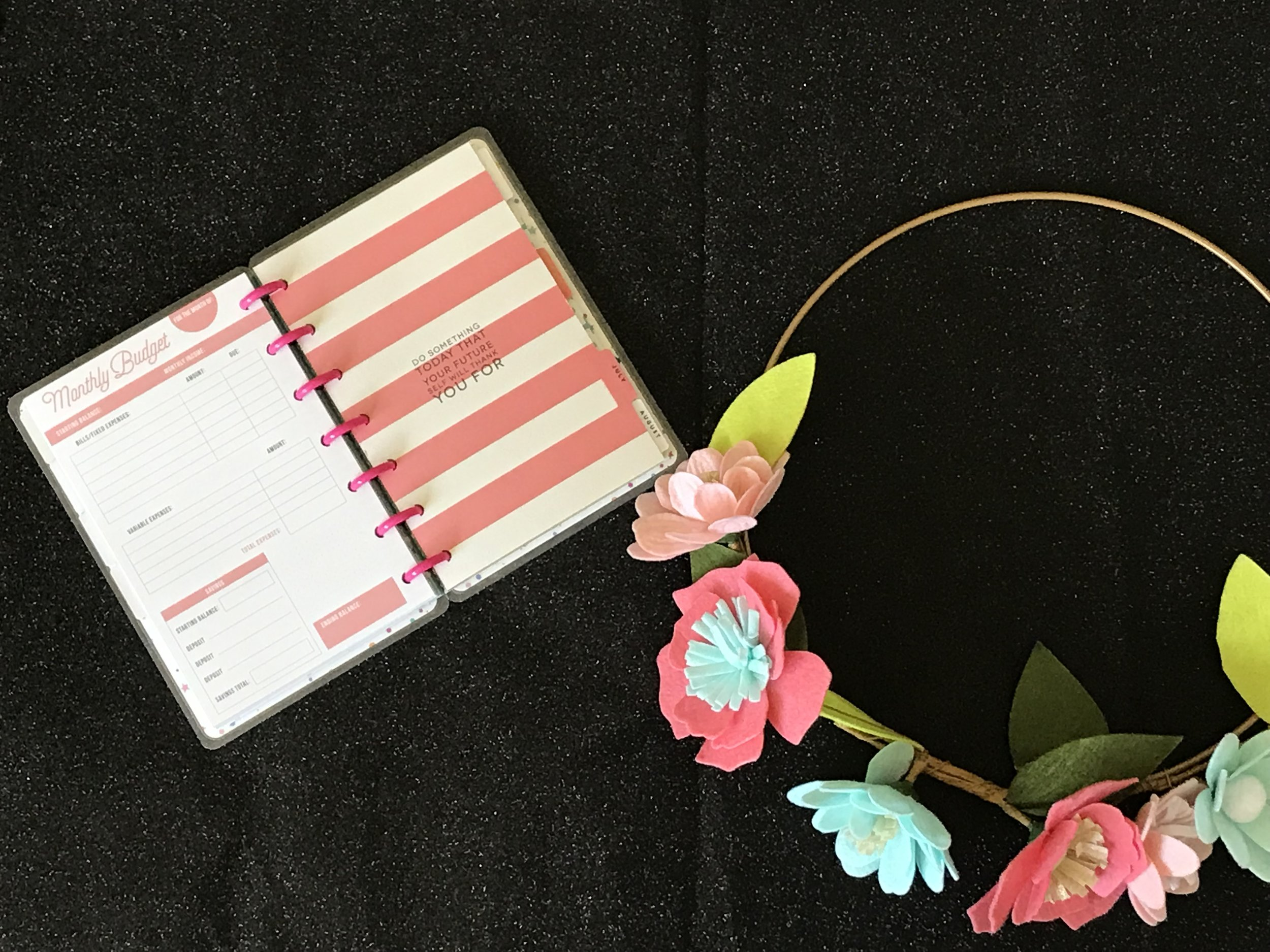 PGP Belle Boss Holly : My favorite planner item right now is the Happy Planner Notes that I combined with the budget planner insert to try to become more budget conscious….WISH ME LUCK & LEAVE BUDGET TIPS BELOW