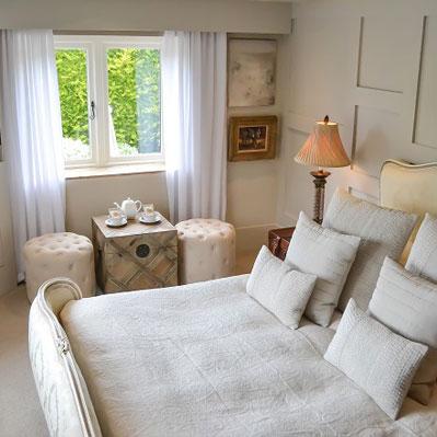 Panelled room -