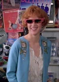 Molly Ringwald as Andie Walsh in Pretty in Pink