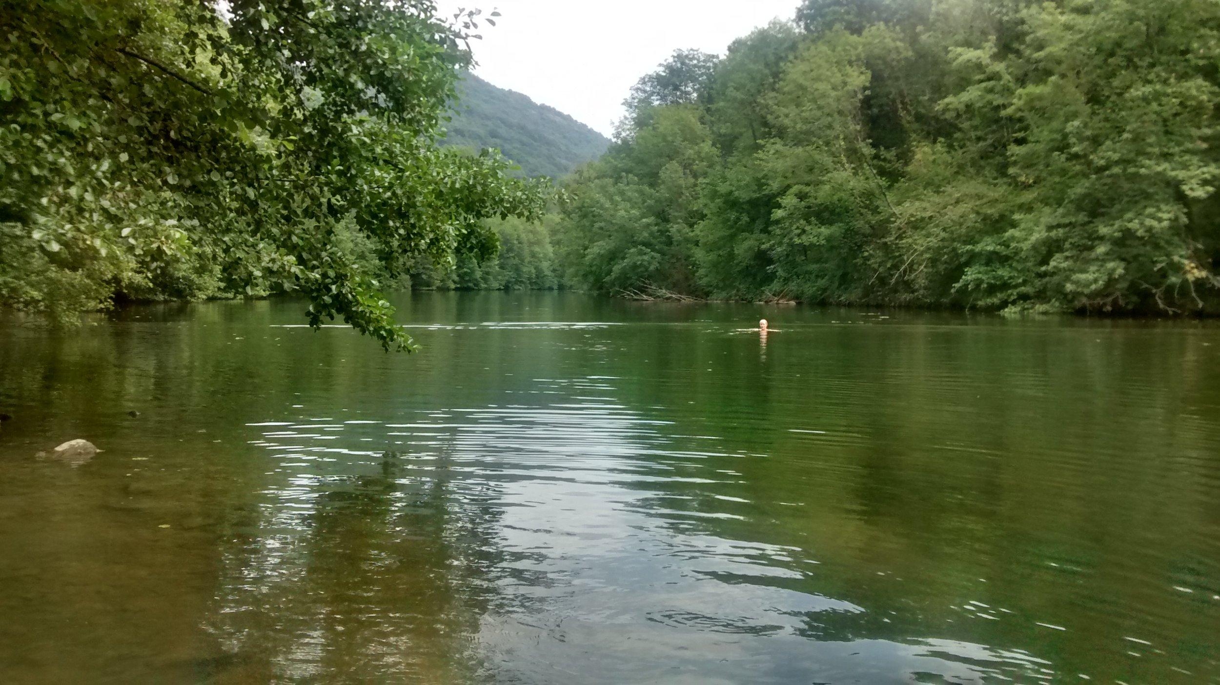 River Viaur Bor et Bar